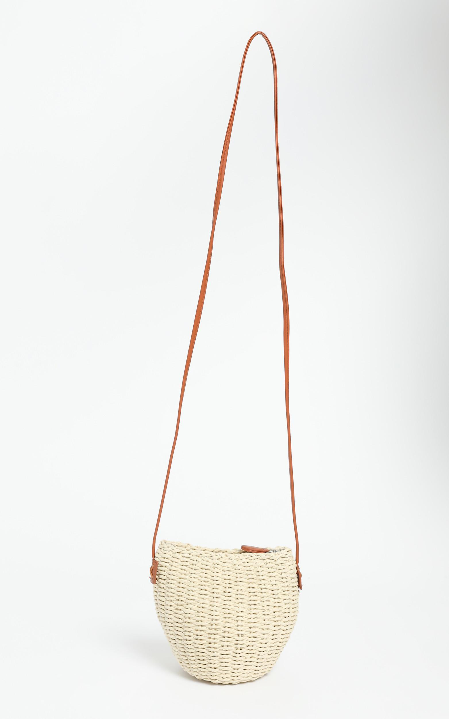 Valente Bag in White Straw, , hi-res image number null