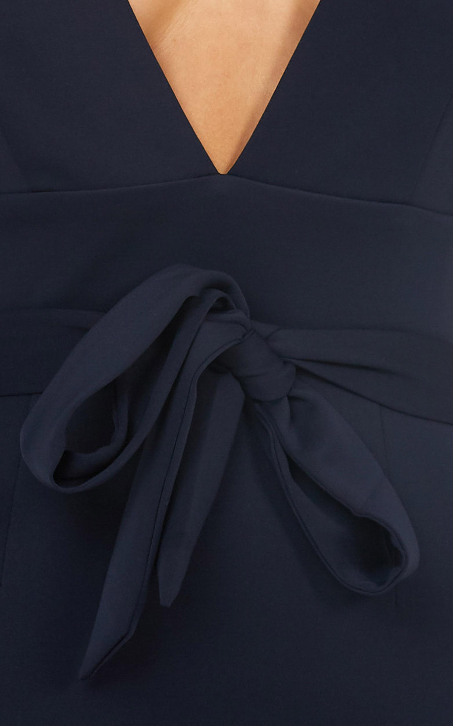 Midnight in Paris Dress in navy - 12 (L), Navy, hi-res image number null