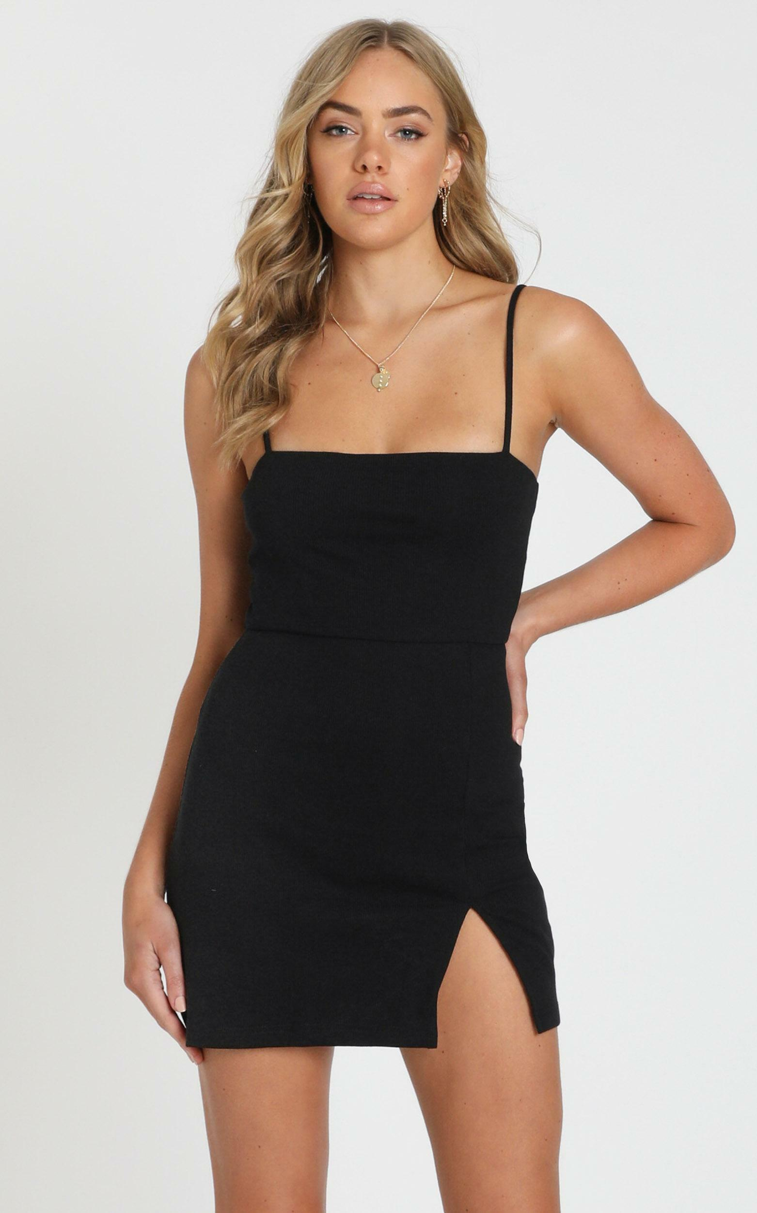 Island Babe Mini Dress in Black - 20, BLK1, hi-res image number null