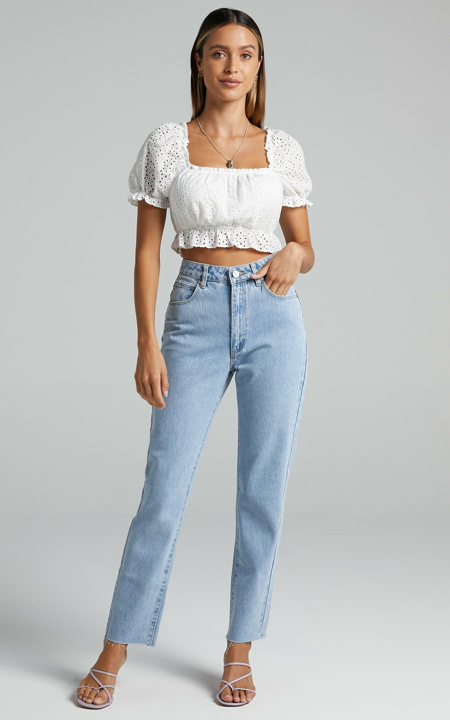 Abrand - A '94 High Slim Jeans in Walk Away - 16 (XXL), BLU3, hi-res image number null