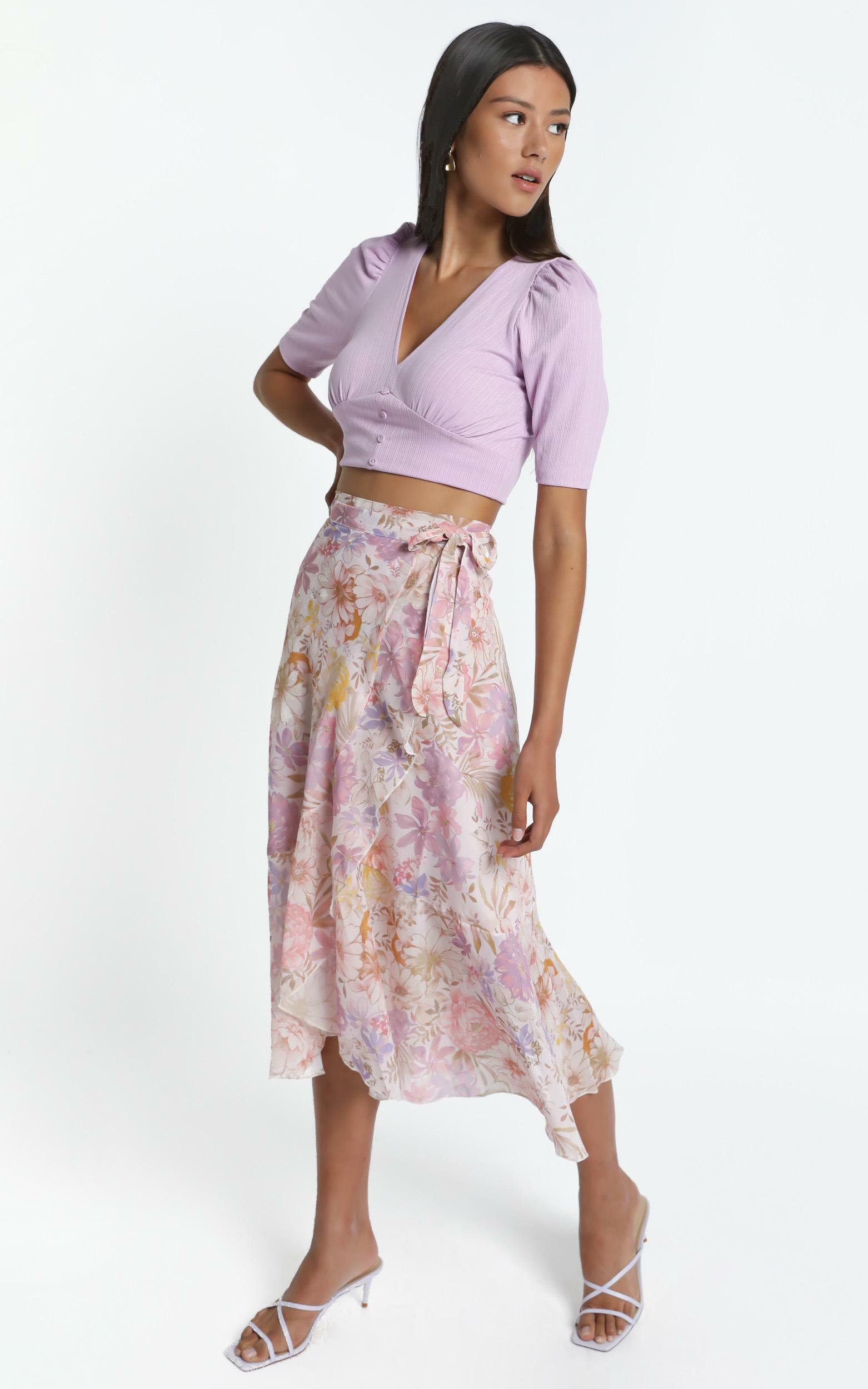 Neala Skirt in Vintage Floral - 06, CRE1, hi-res image number null
