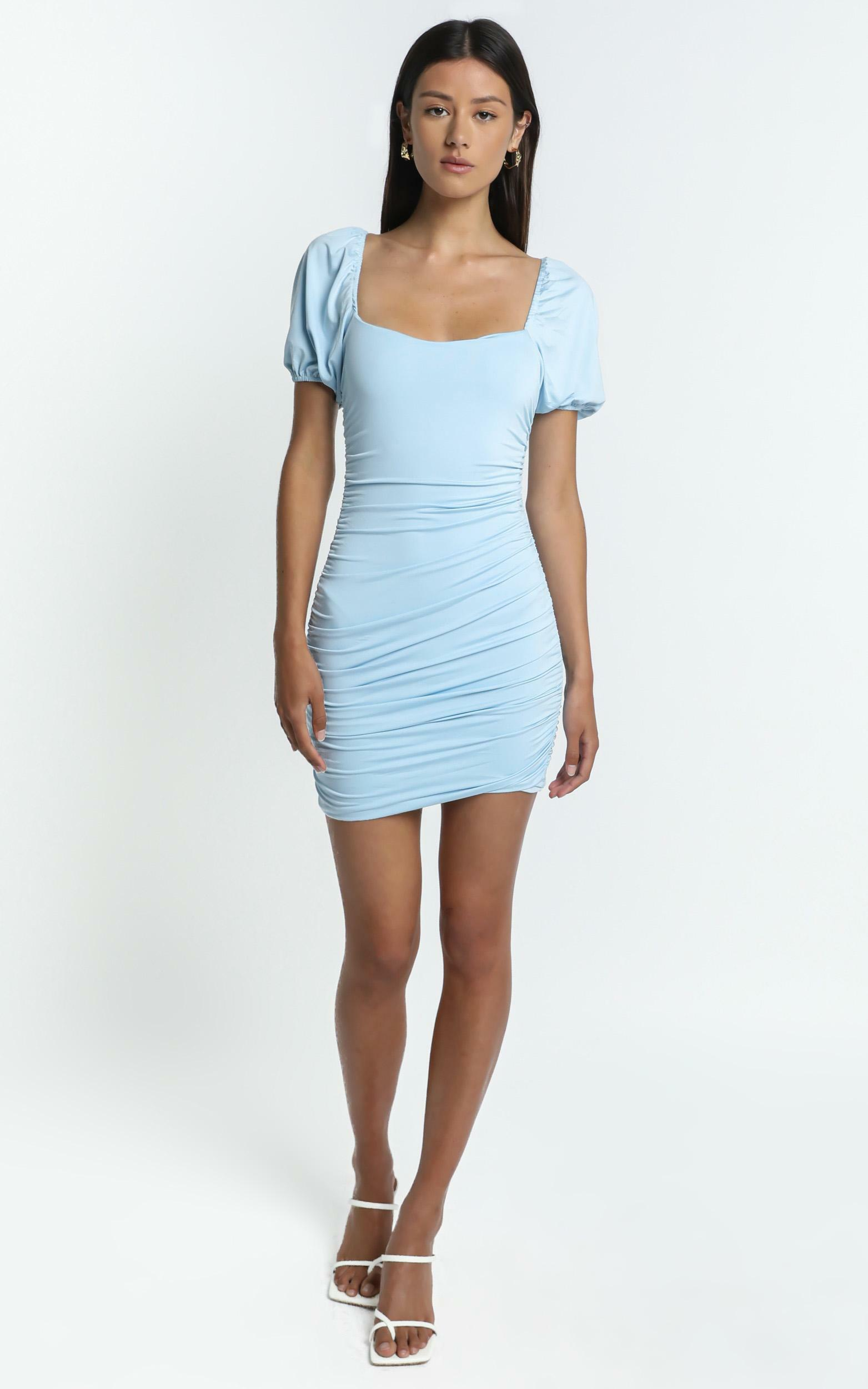 York Dress in Blue - 6 (XS), Blue, hi-res image number null