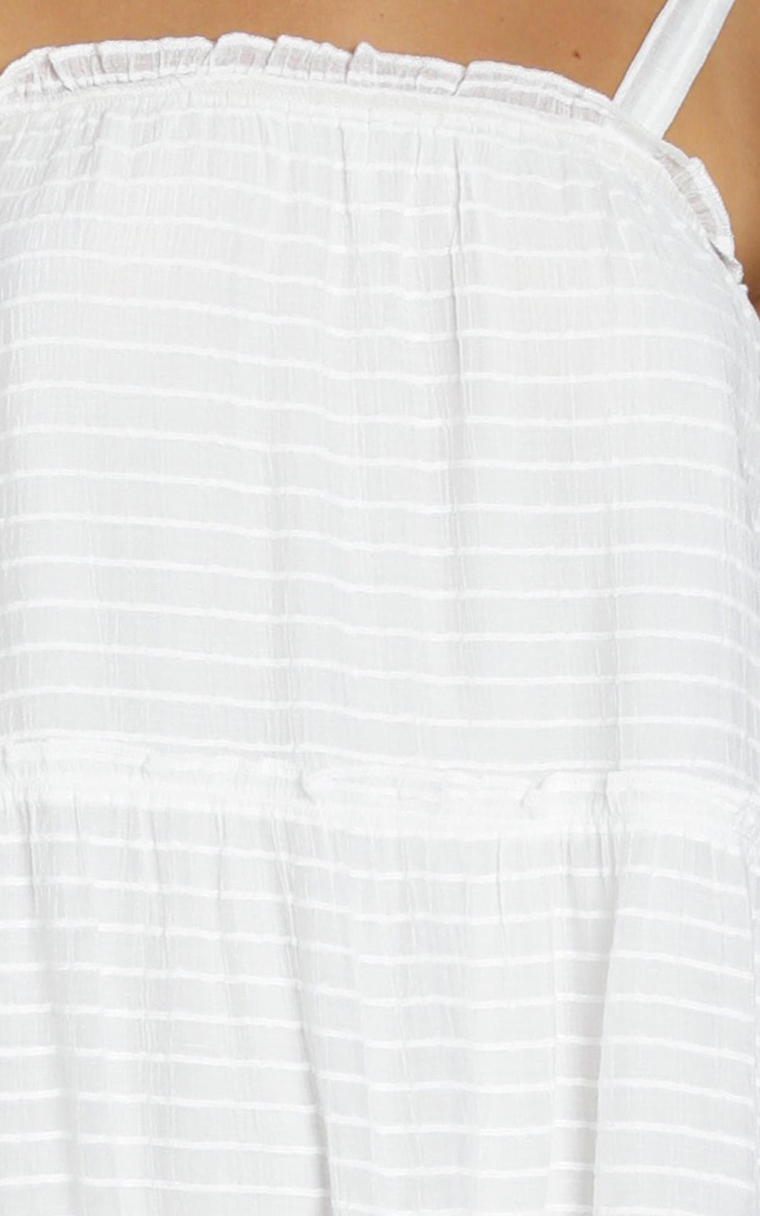 Archie Dress in white - 8 (S), White, hi-res image number null