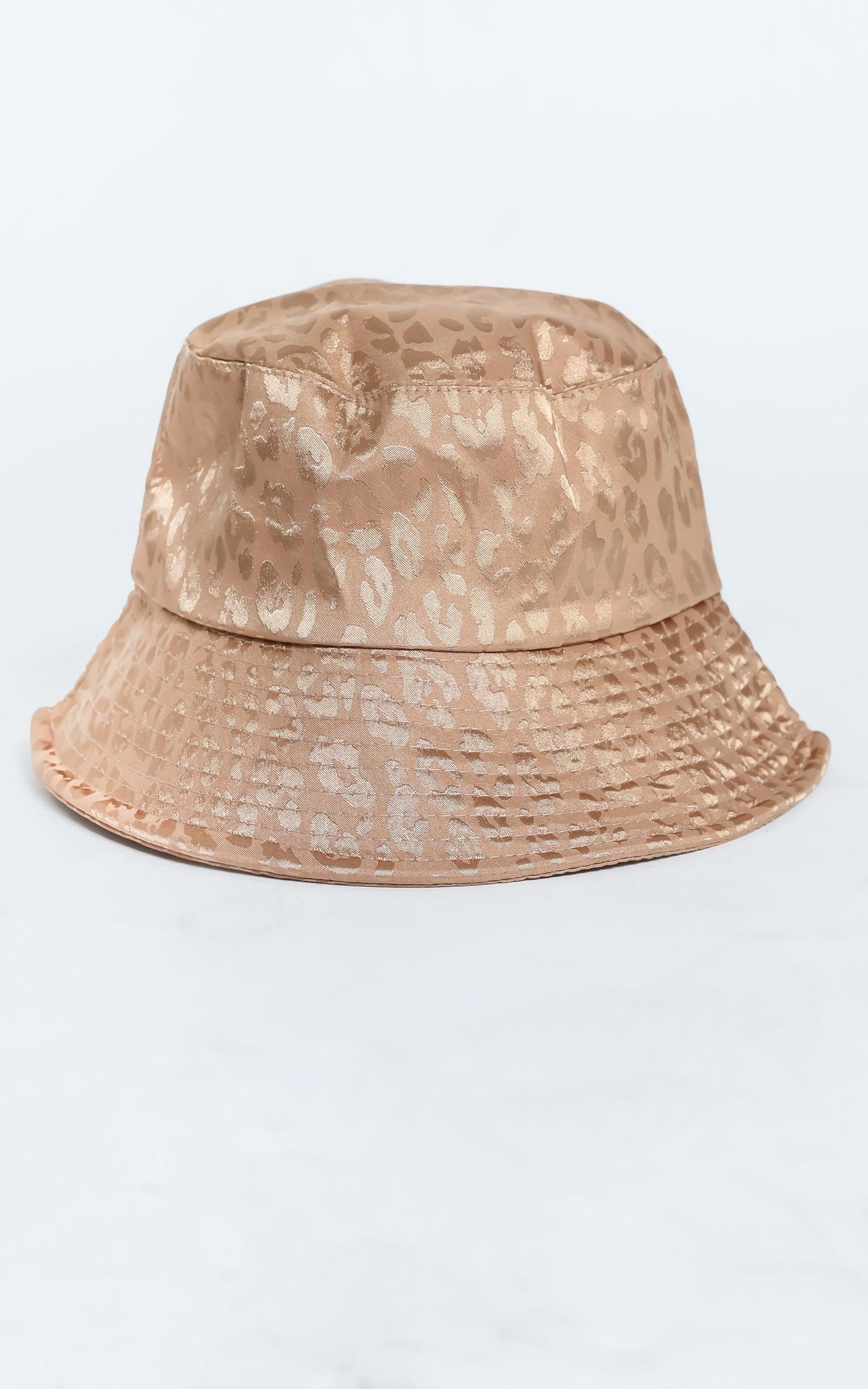 Thania Hat in Beige Leopard, , hi-res image number null