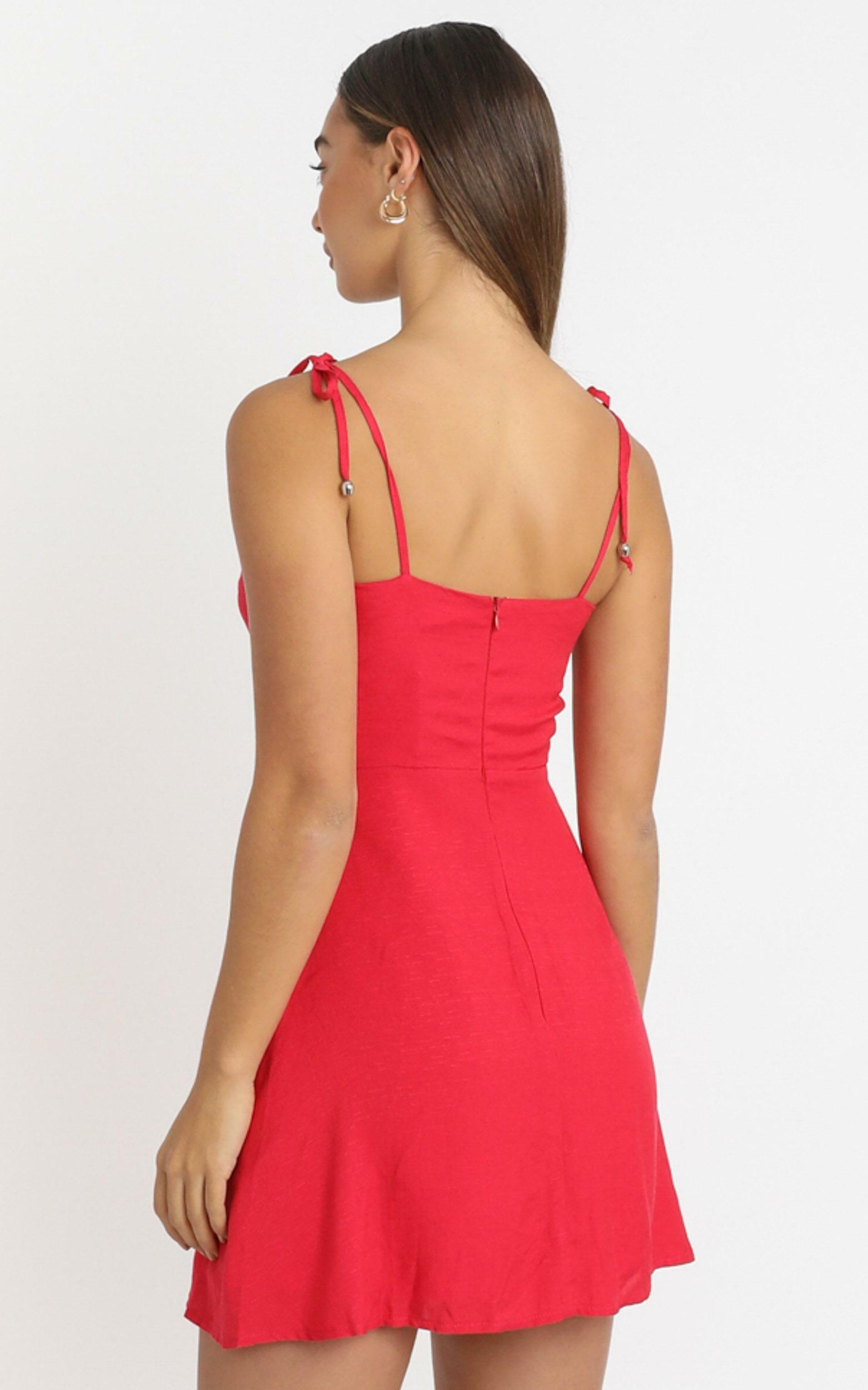 Afternoon Glow Dress in red - 20 (XXXXL), Red, hi-res image number null