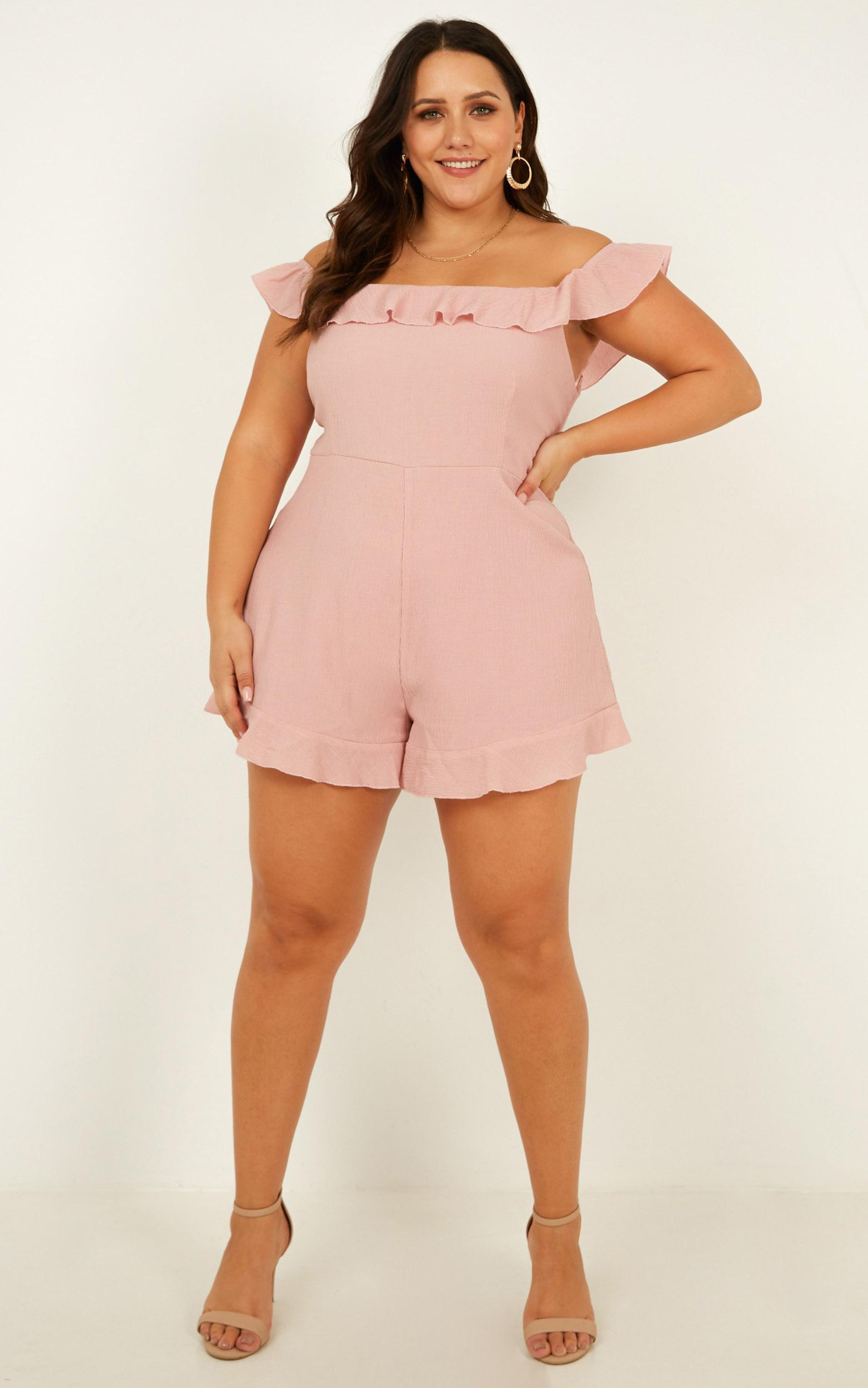 The One And Only Playsuit In blush - 20 (XXXXL), Blush, hi-res image number null