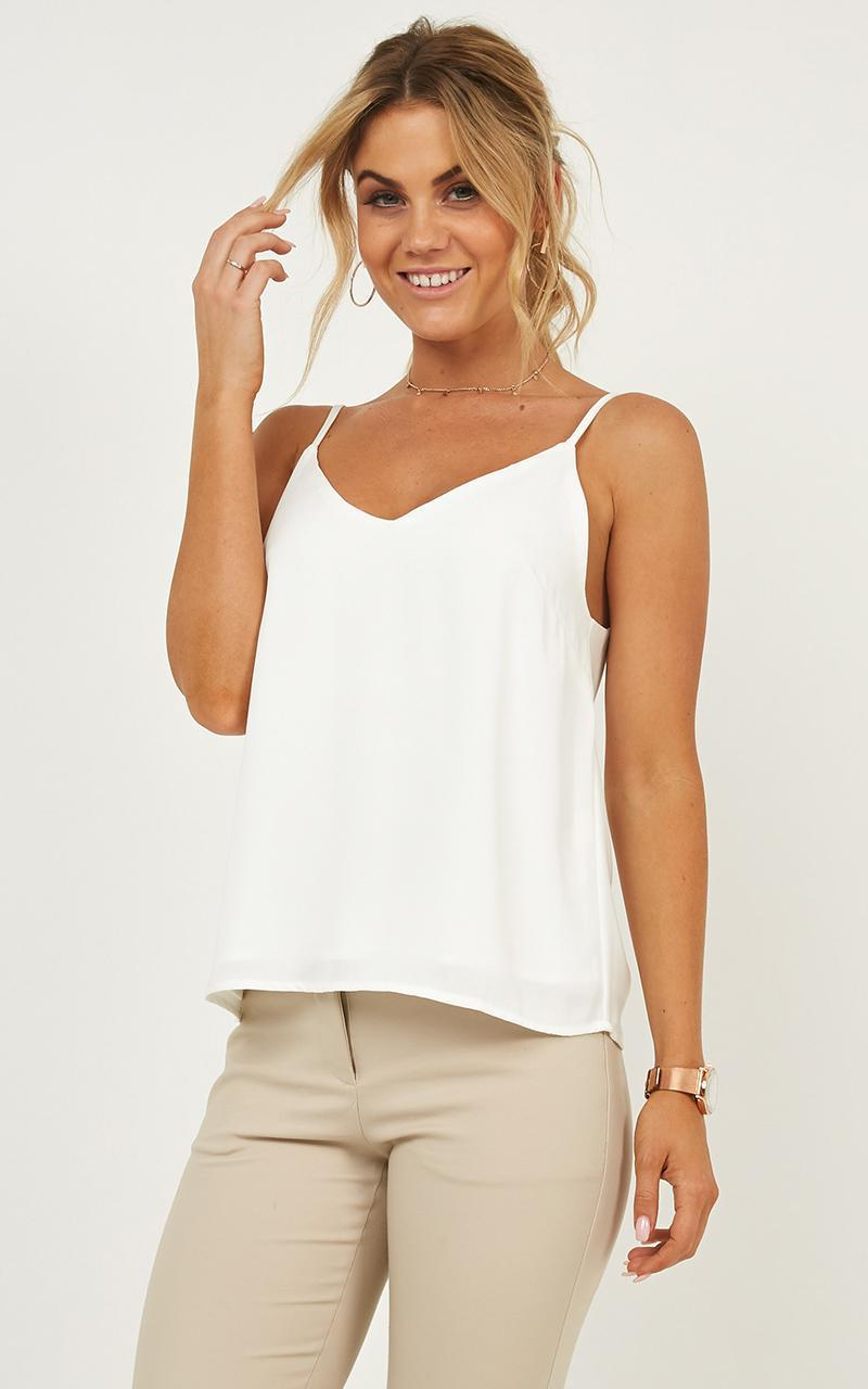 Merger Top in White - 20, WHT9, hi-res image number null