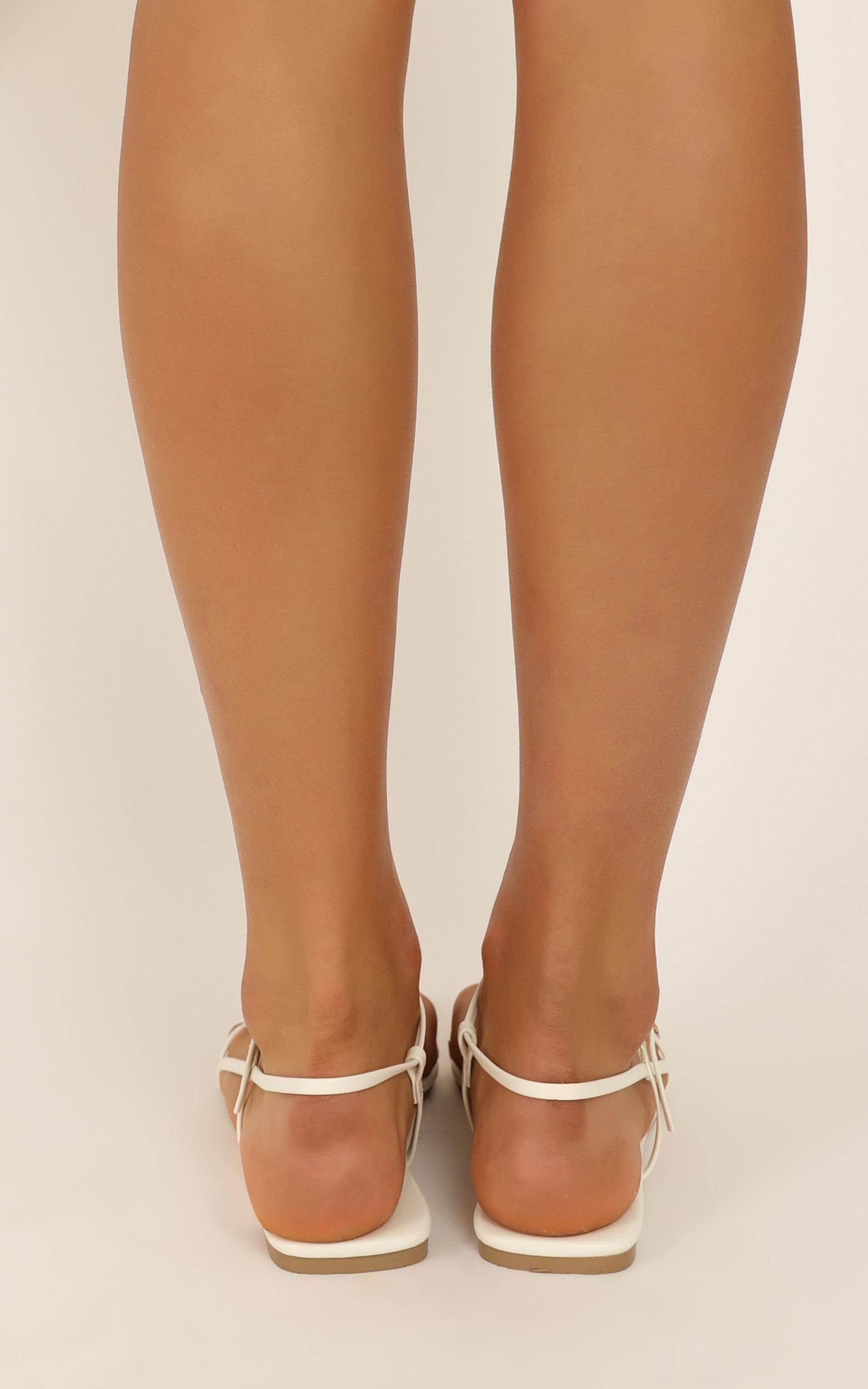 Billini - Patchouli sandals in white - 10, White, hi-res image number null