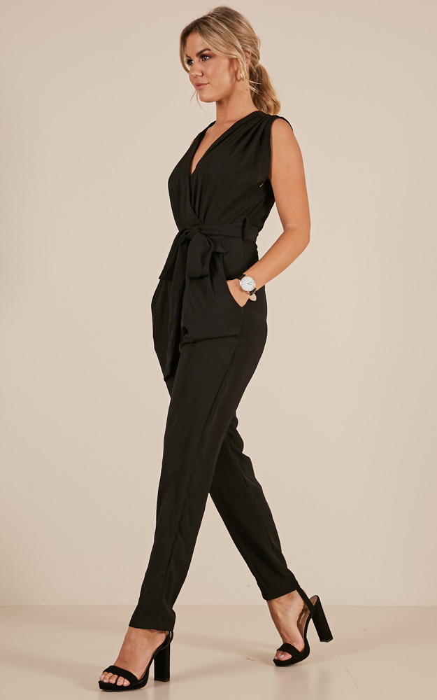 Workaholic jumpsuit black - 6 (XS), Black, hi-res image number null