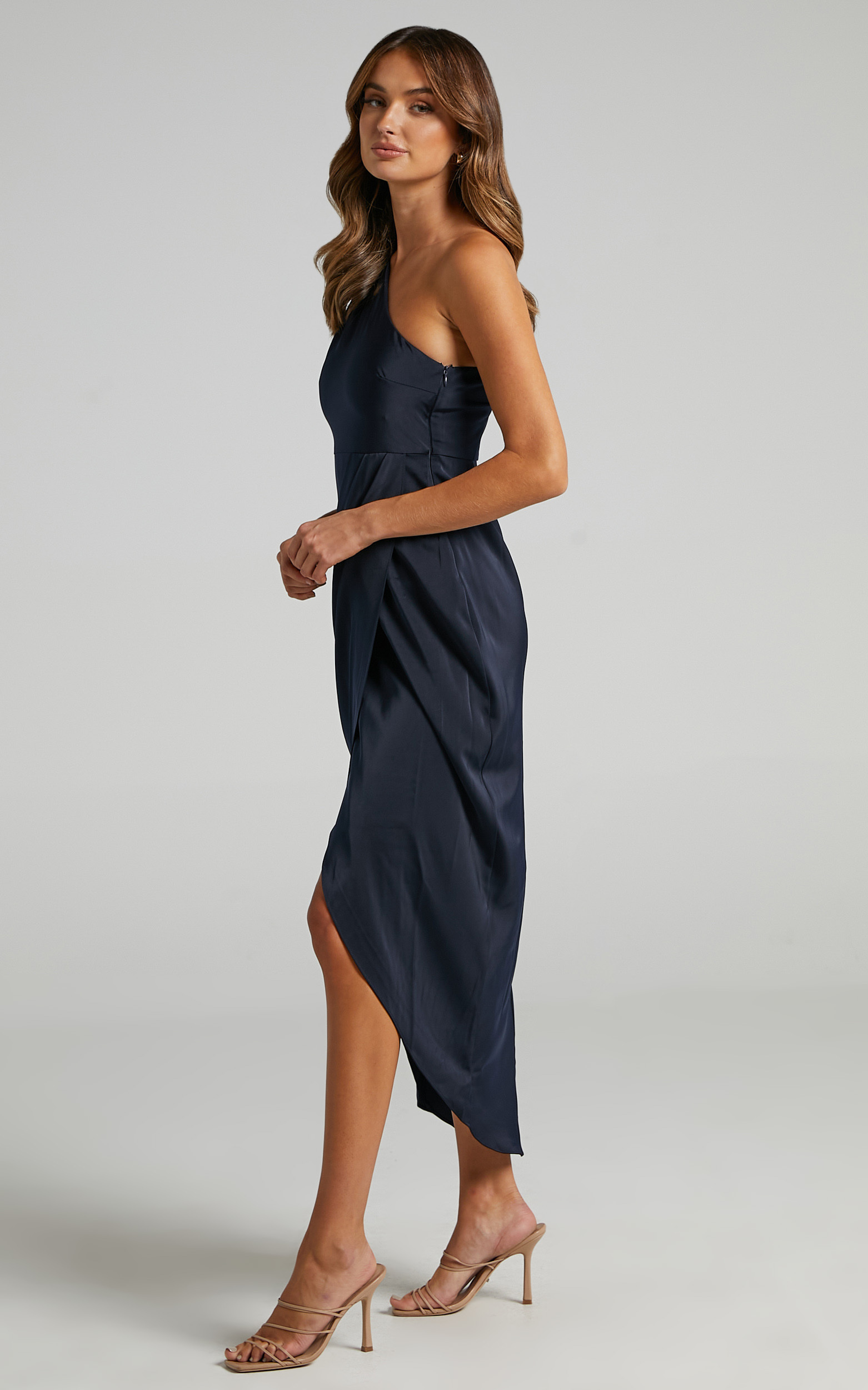 Felt So Happy Dress in Navy - 20, NVY5, hi-res image number null