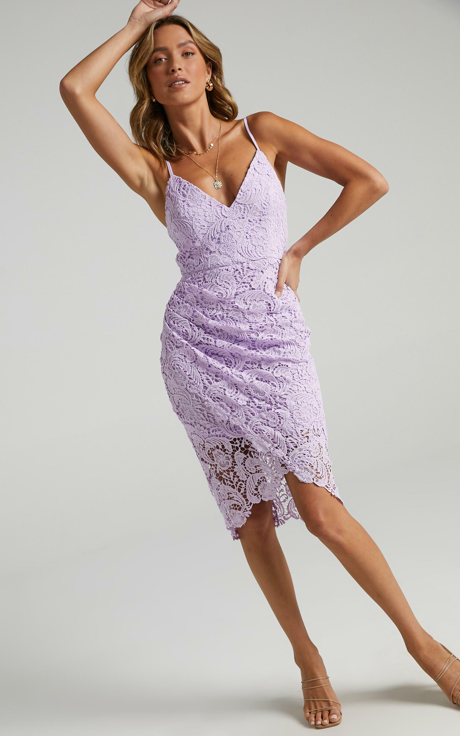 Typical Lover Dress In Lilac - 6 (XS), PRP3, hi-res image number null