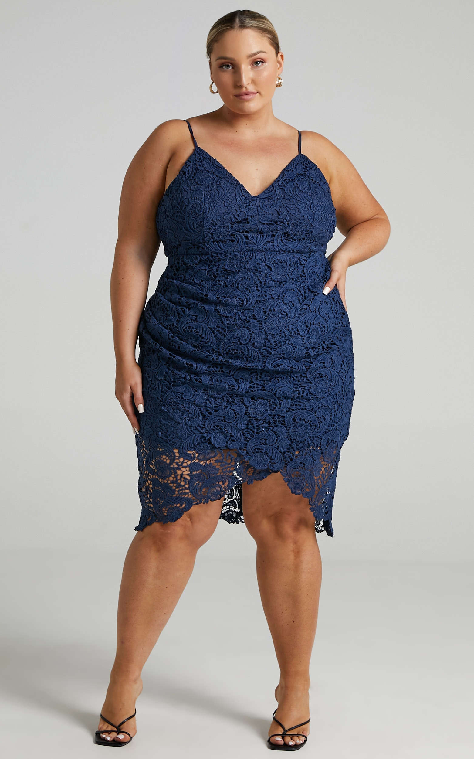 Typical Lover Dress in Navy Lace - 20, NVY1, hi-res image number null