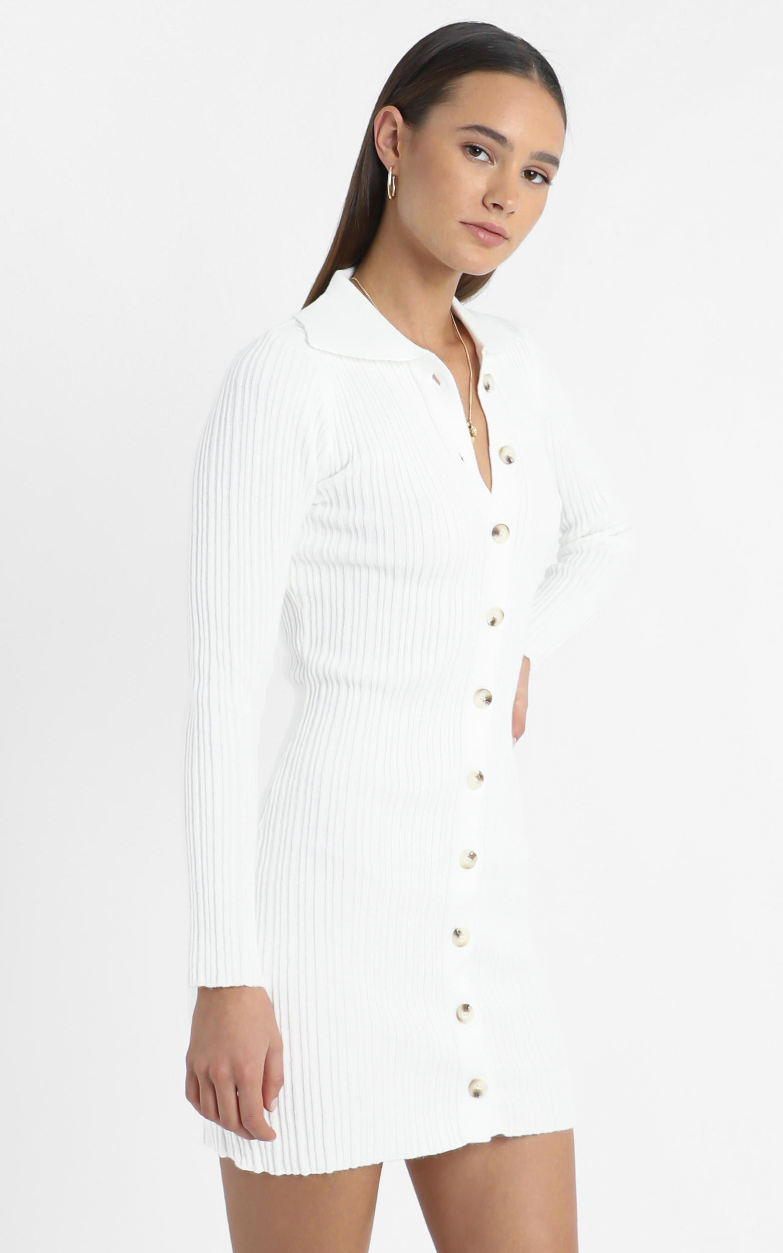Albury Dress in White - M/L, White, hi-res image number null