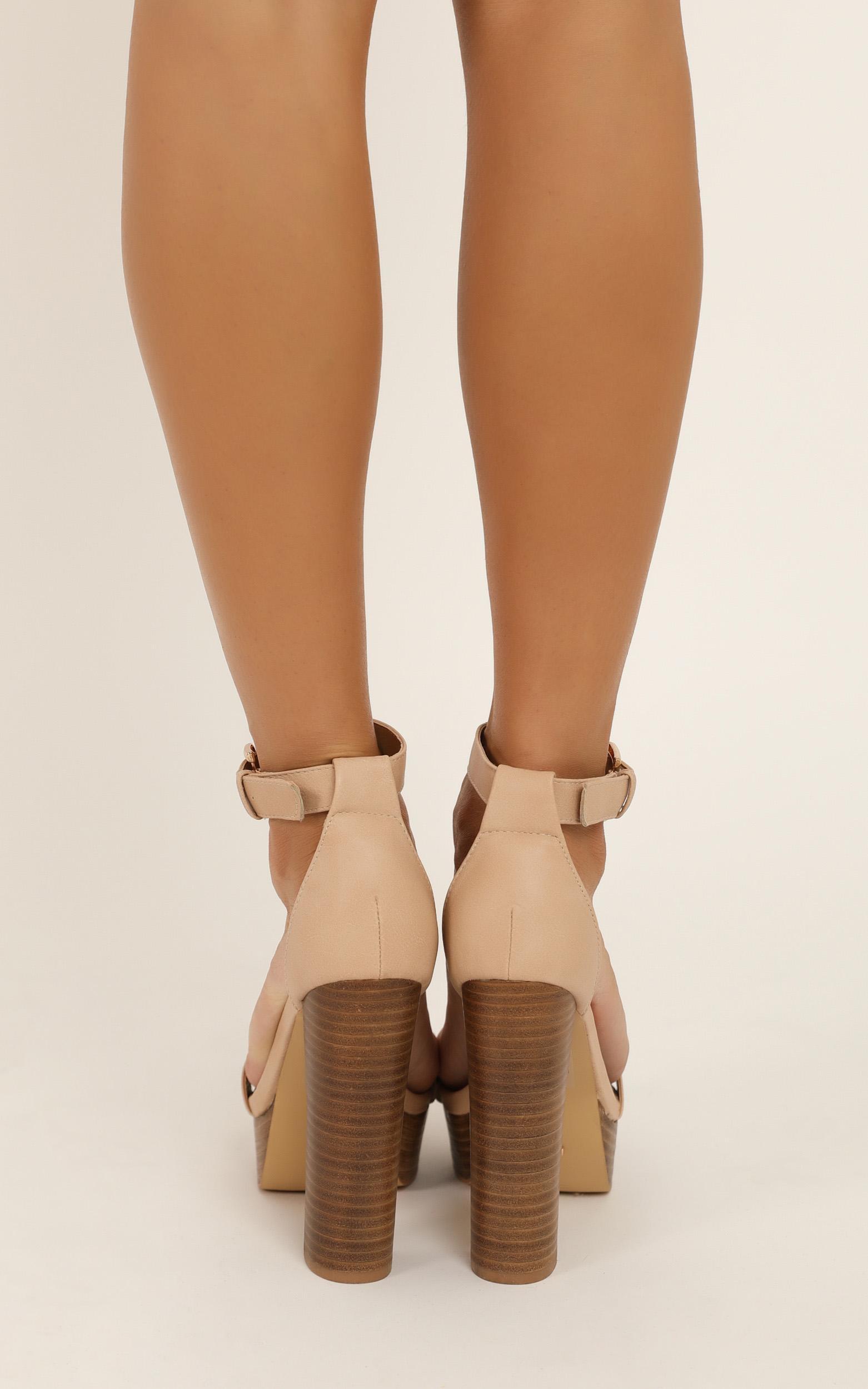 Billini - Egypt heels in nude - 10, Beige, hi-res image number null
