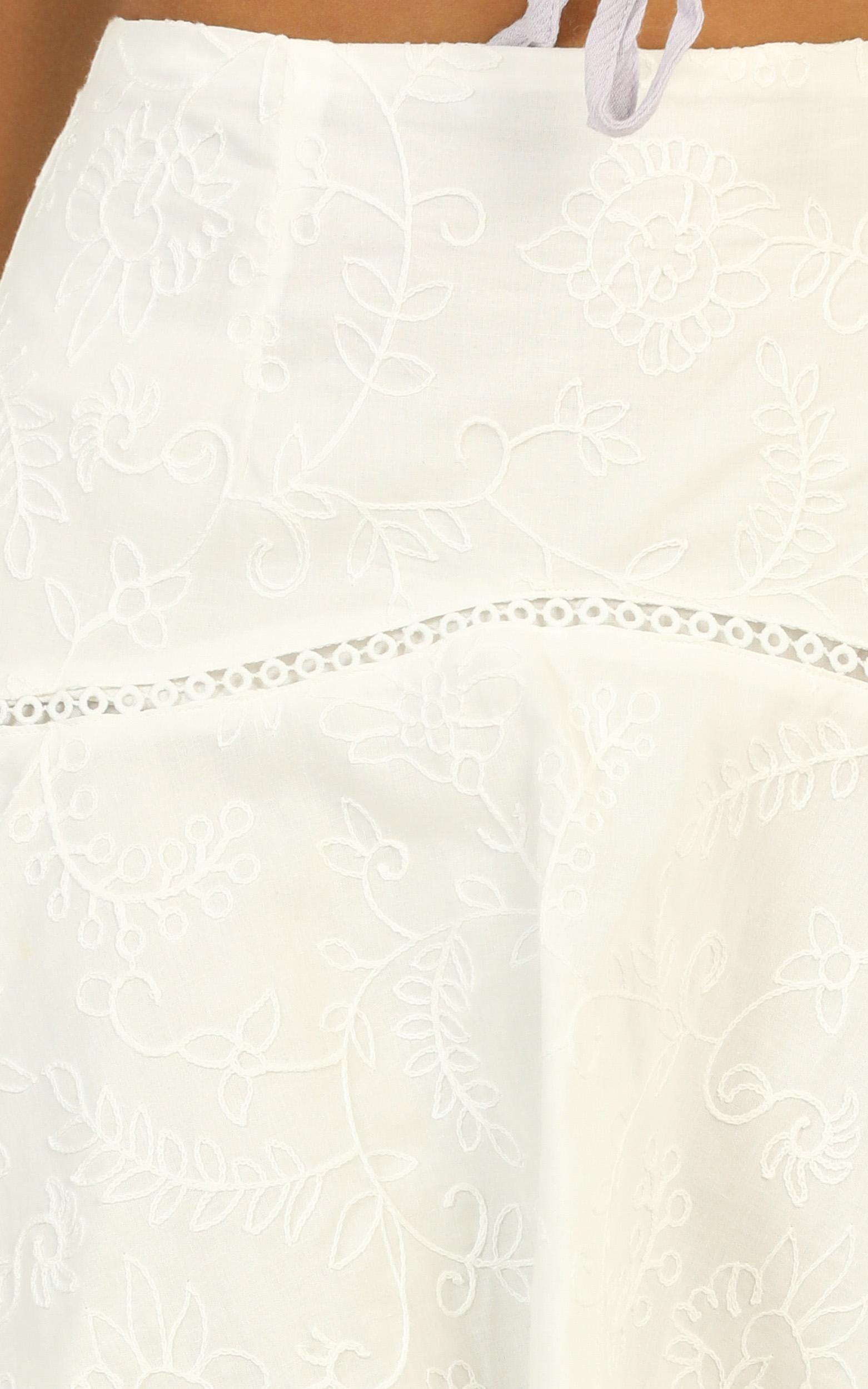 A Little Different skirt in white - 16 (XXL), White, hi-res image number null