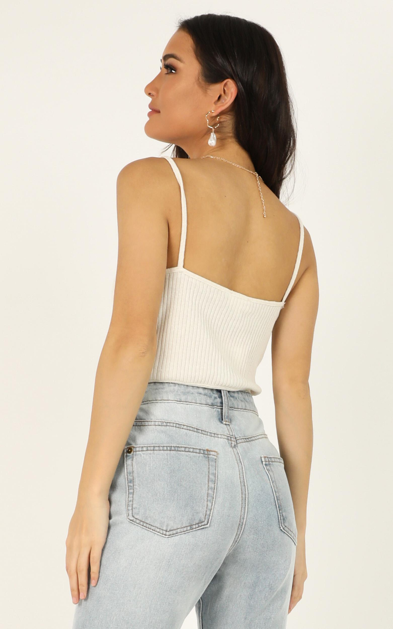 Get Complicated top in white - 12 (L), White, hi-res image number null