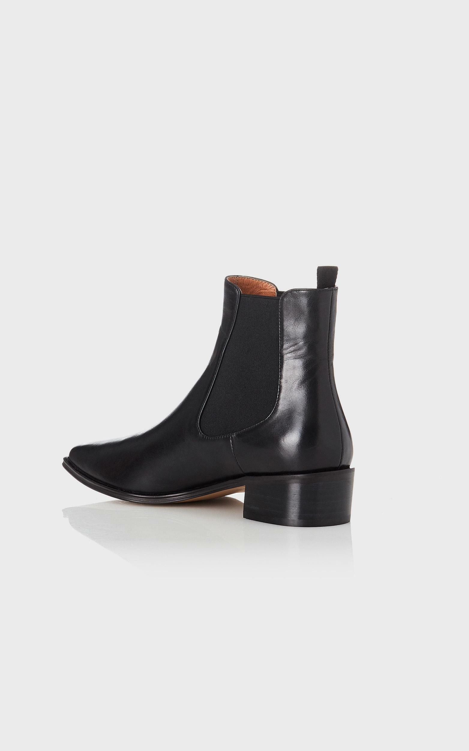 Alias Mae - Yasmyn Boots in Black Burnished - 36, Black, hi-res image number null