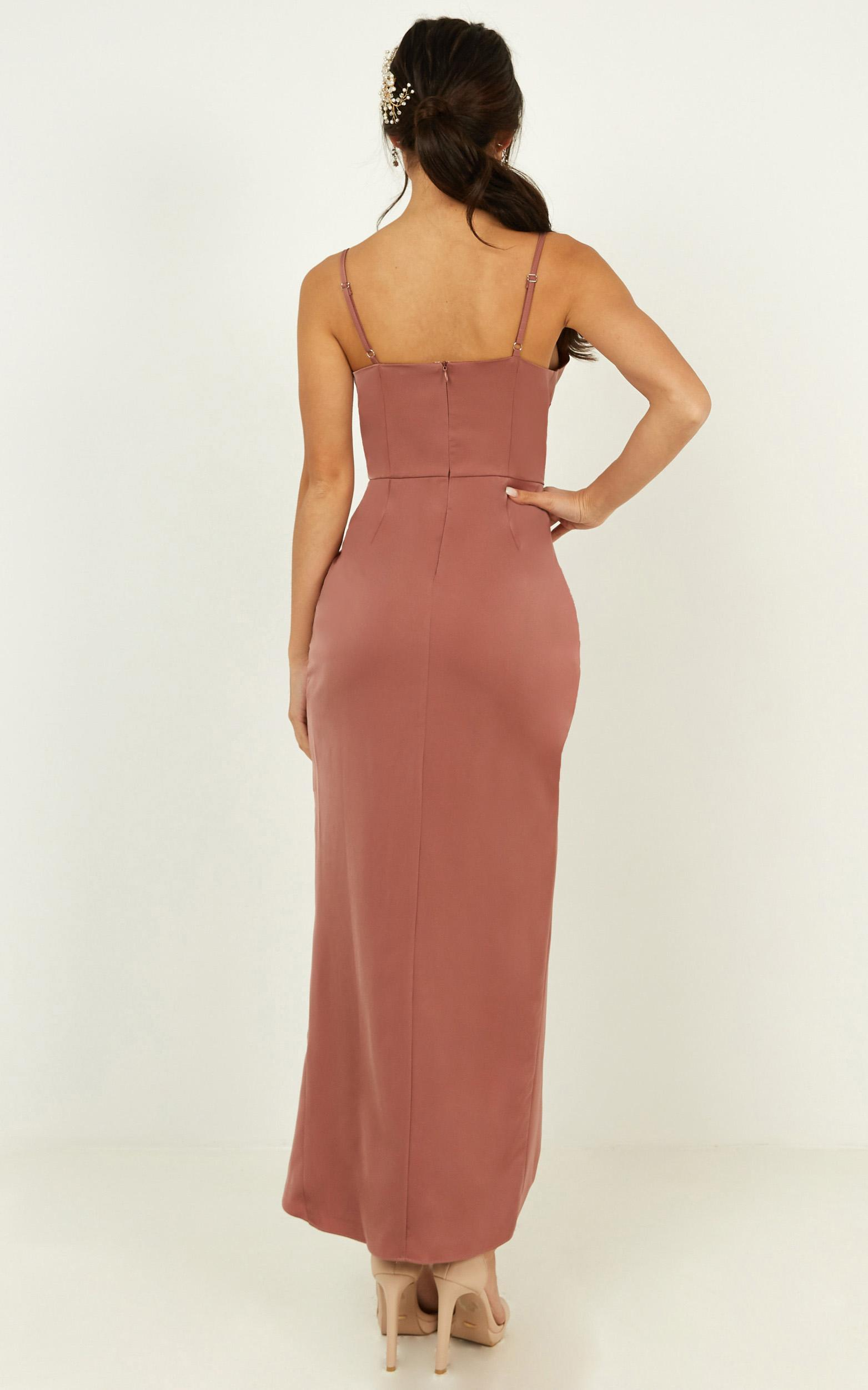 Shes a dreamer dress in dusty rose - 20 (XXXXL), Pink, hi-res image number null