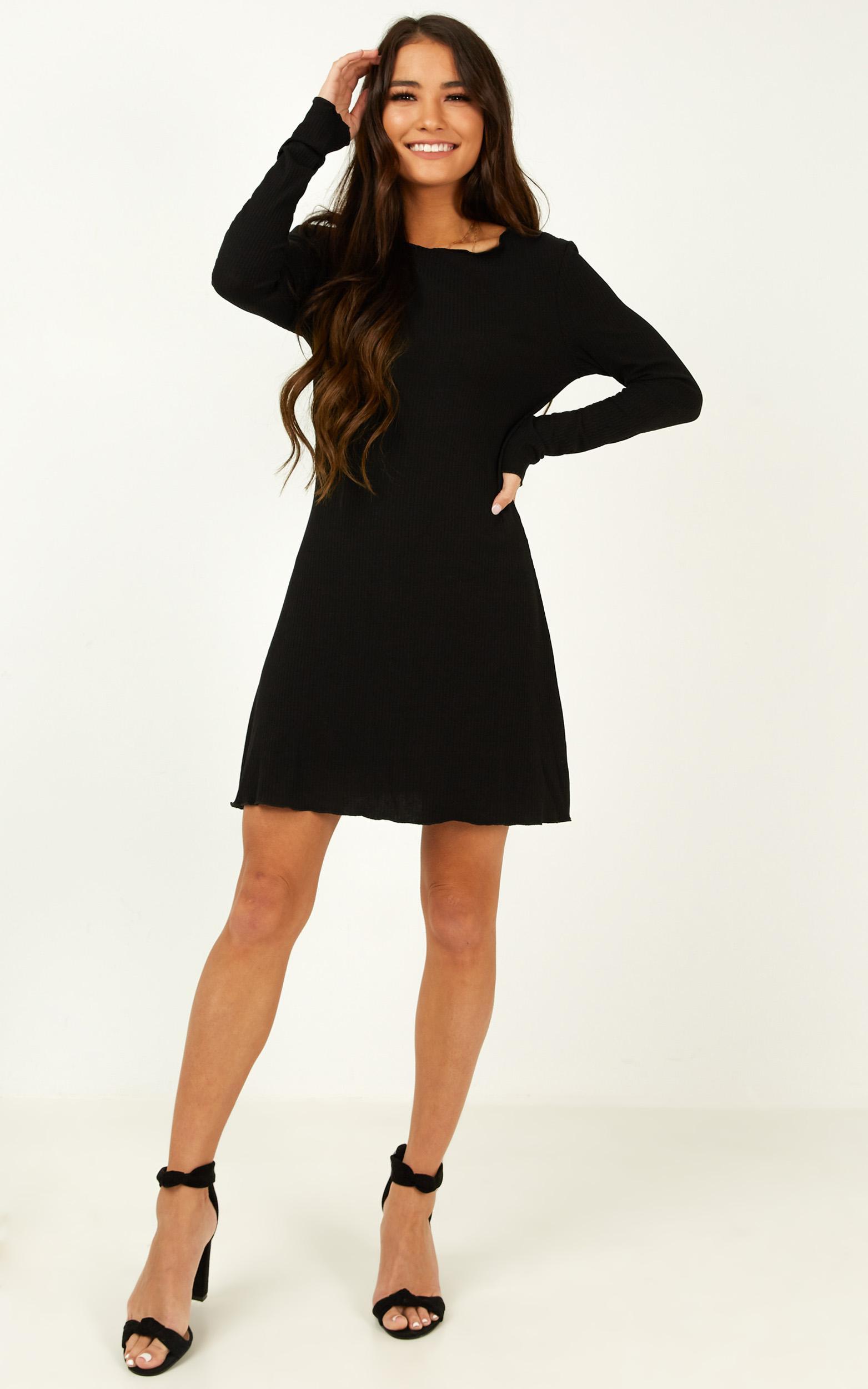 Feeling New Dress in black - 14 (XL), Black, hi-res image number null