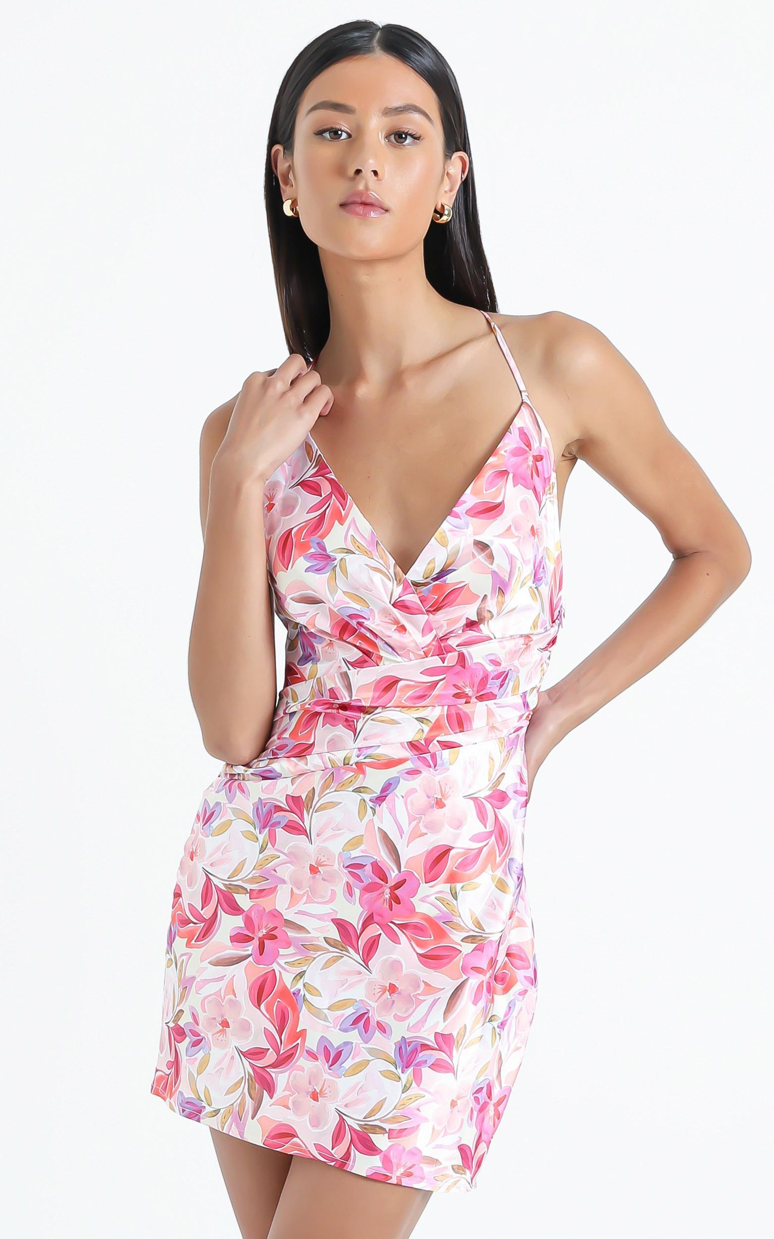 Surry Dress in Eventful Bloom - 6 (XS), Multi, hi-res image number null