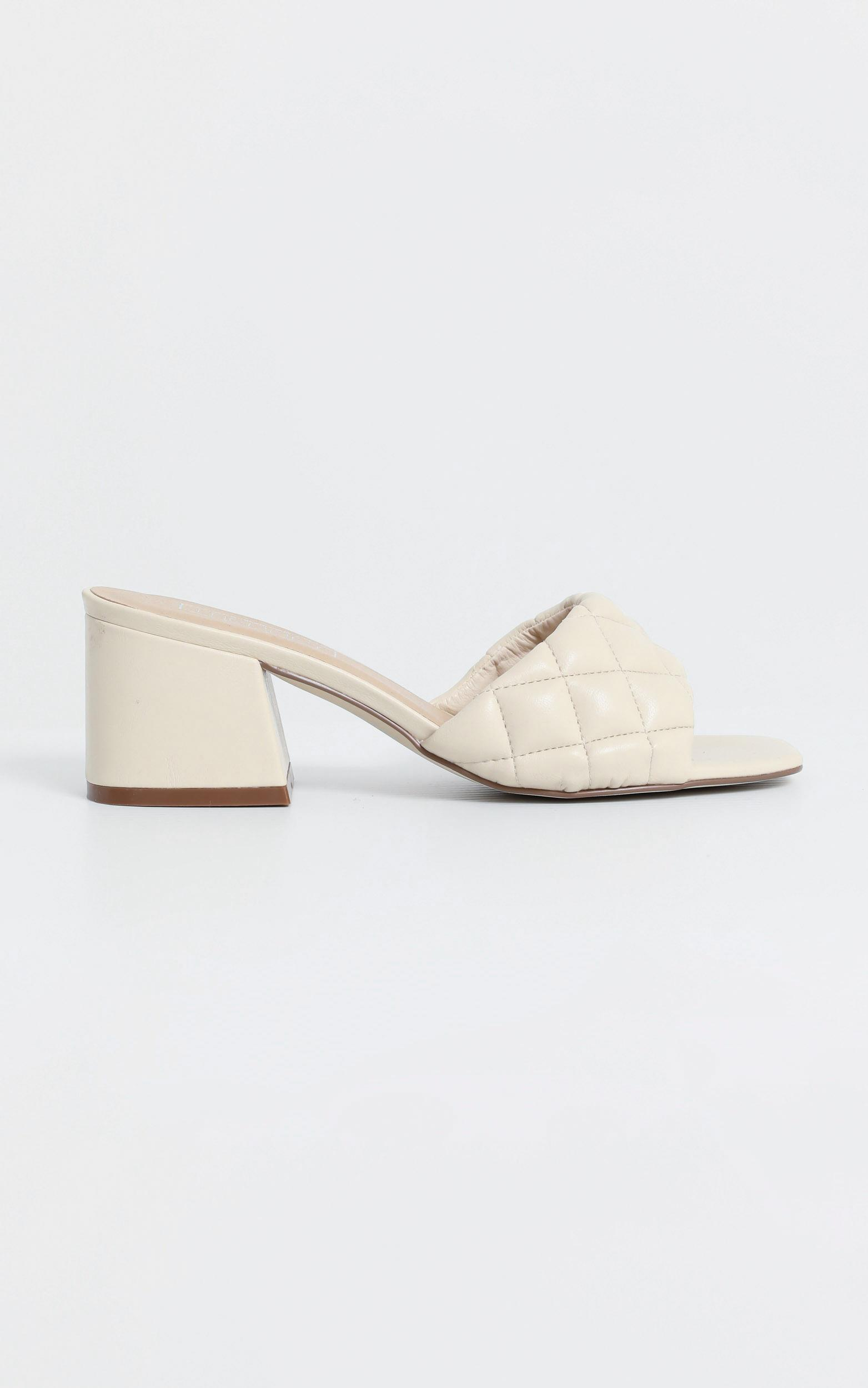 Therapy - Lucca Heels in Nude Quilted - 5, BRN9, hi-res image number null
