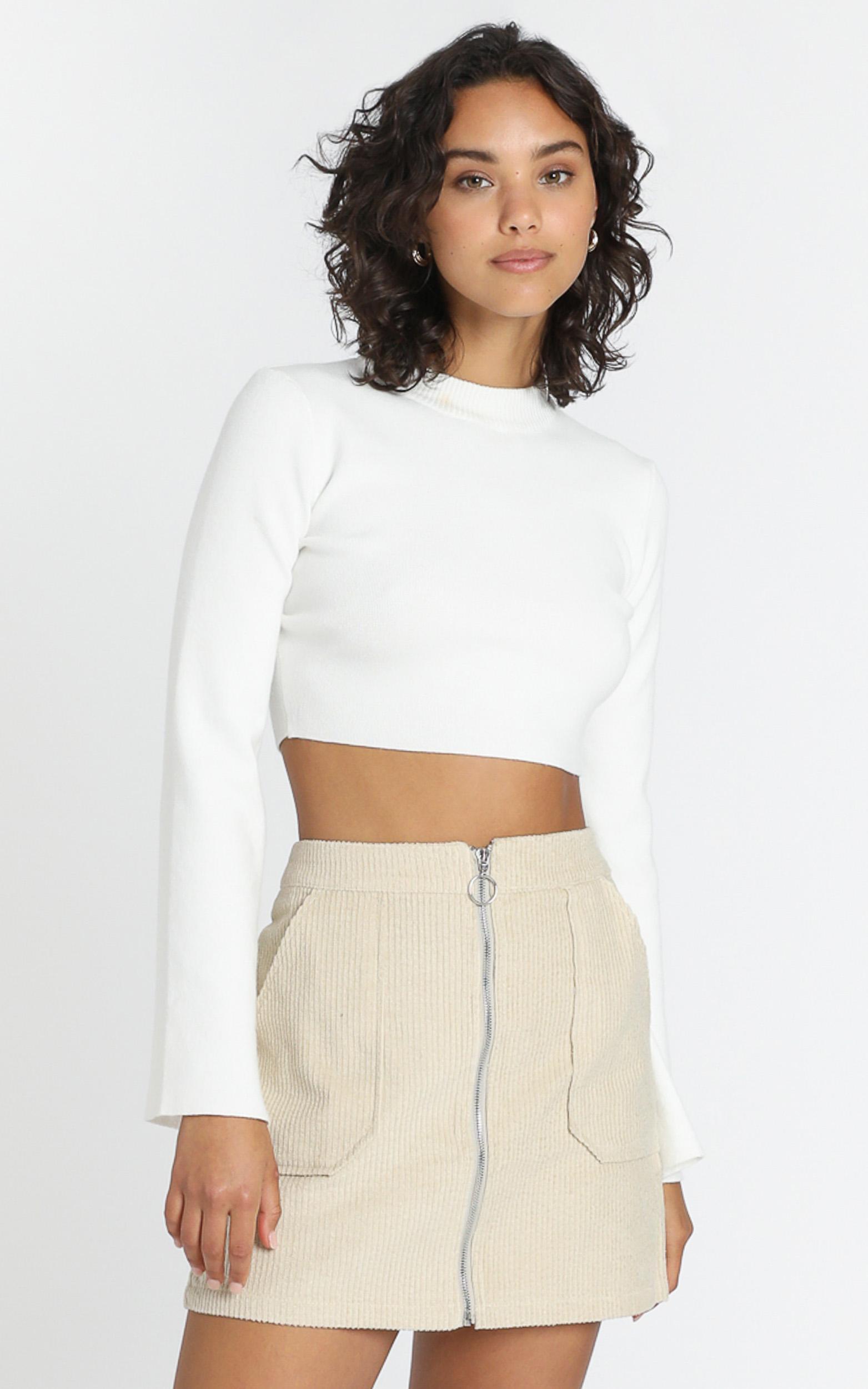 Marling Skirt in Beige - 6 (XS), Beige, hi-res image number null