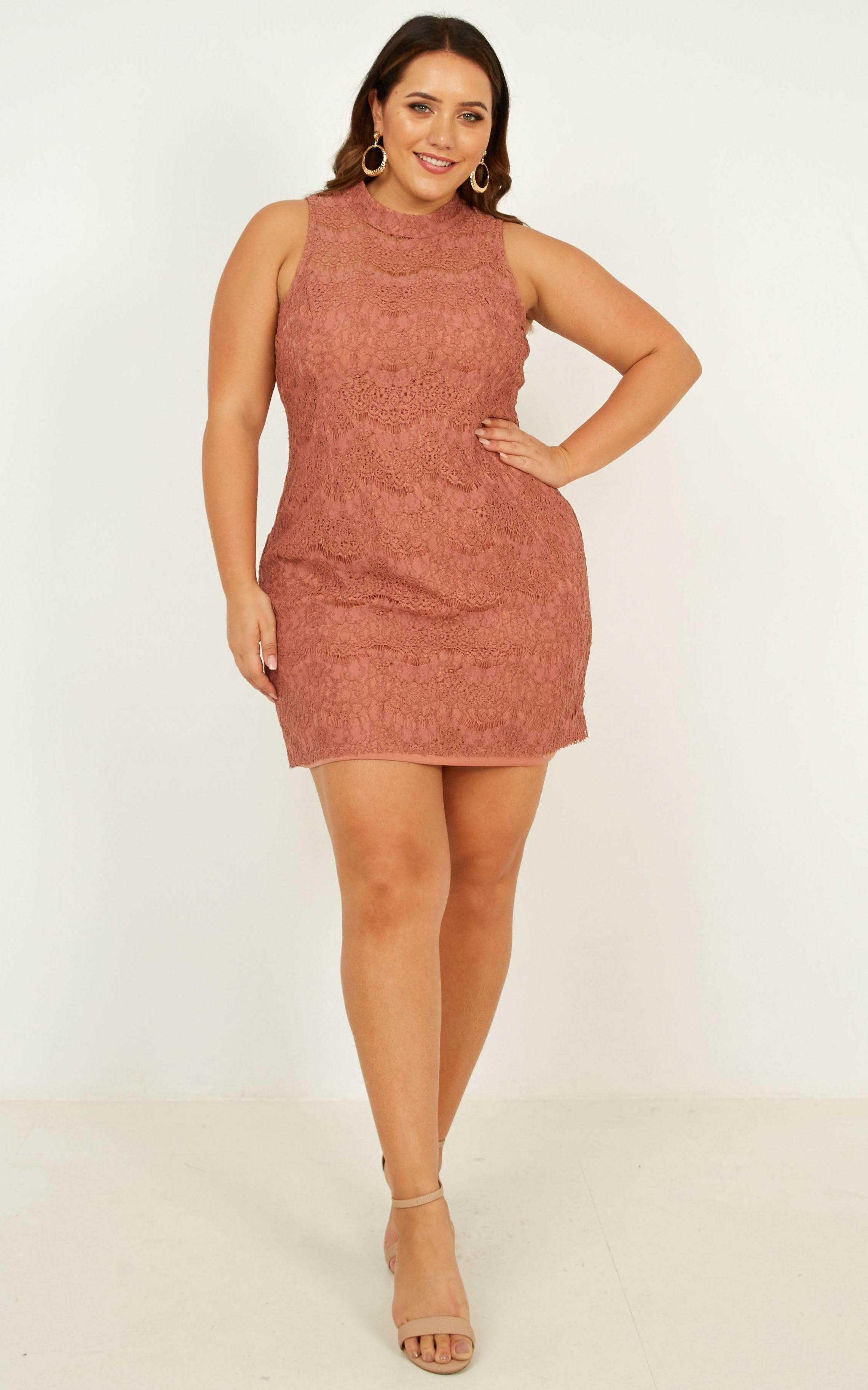 Get The Moves on Dress in dusty rose - 20 (XXXXL), Pink, hi-res image number null