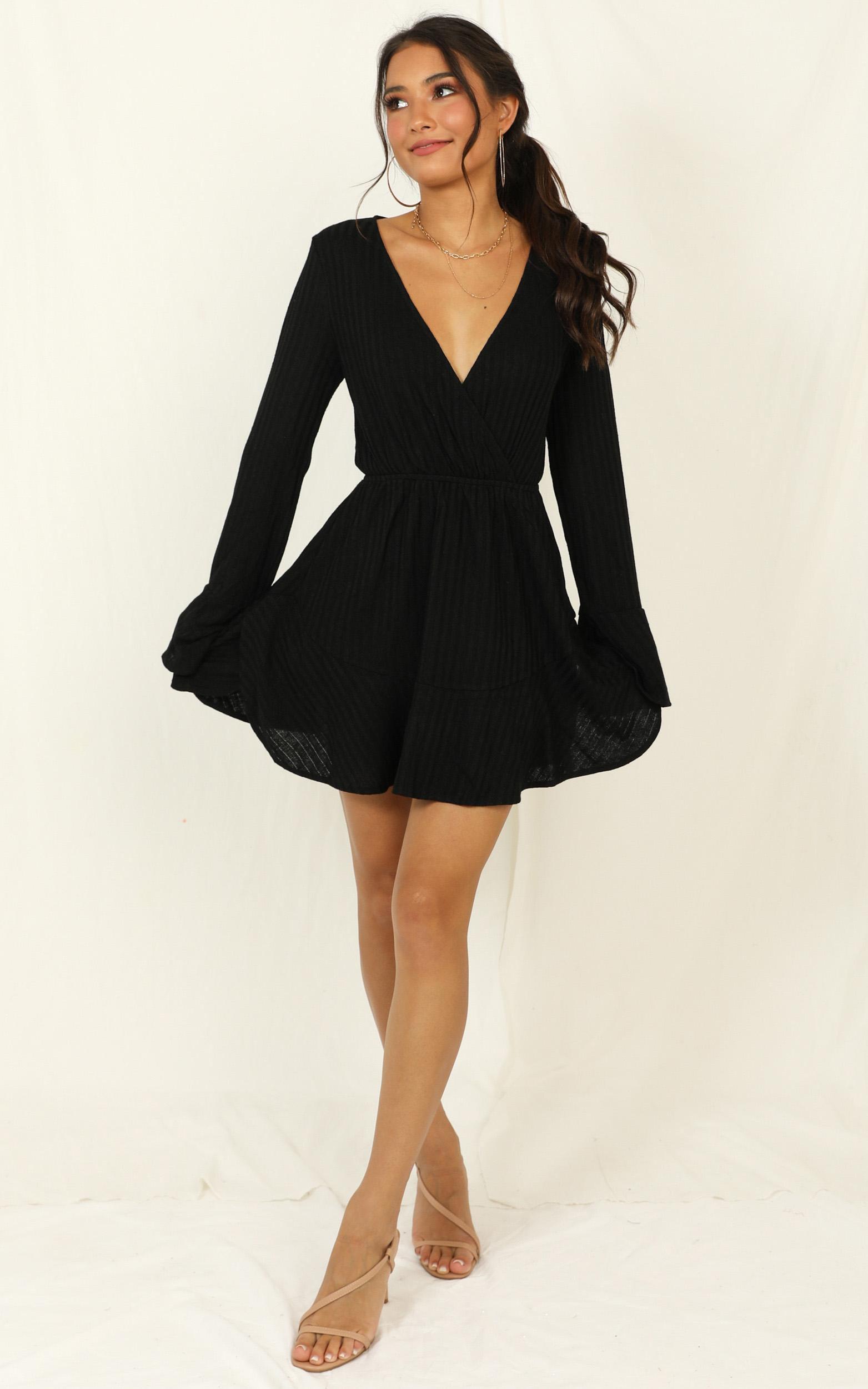 The Next Step dress in black - 20 (XXXXL), Black, hi-res image number null