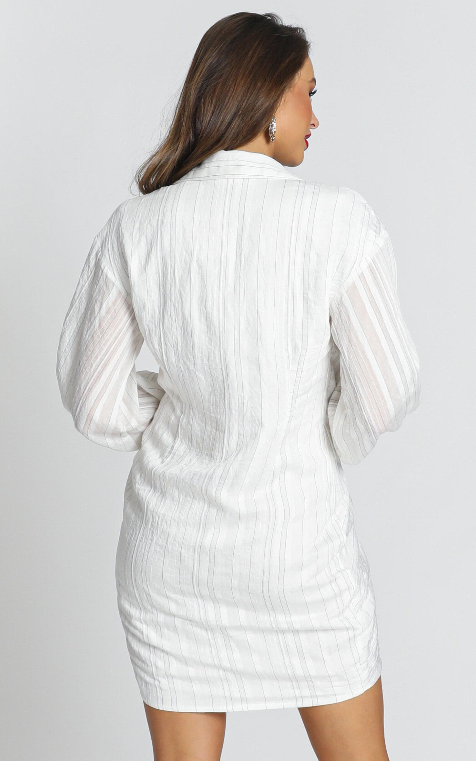 Within The Team Dress in white - 20 (XXXXL), White, hi-res image number null
