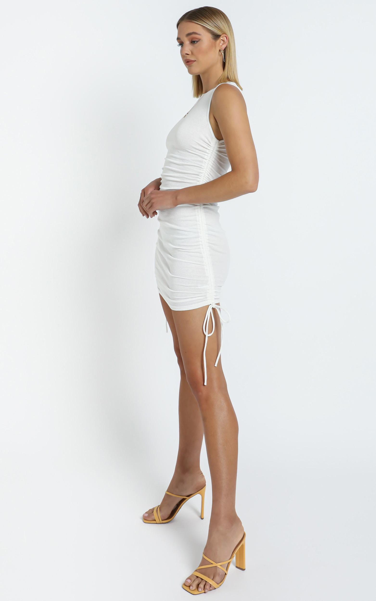 Judy Dress in White, White, hi-res image number null