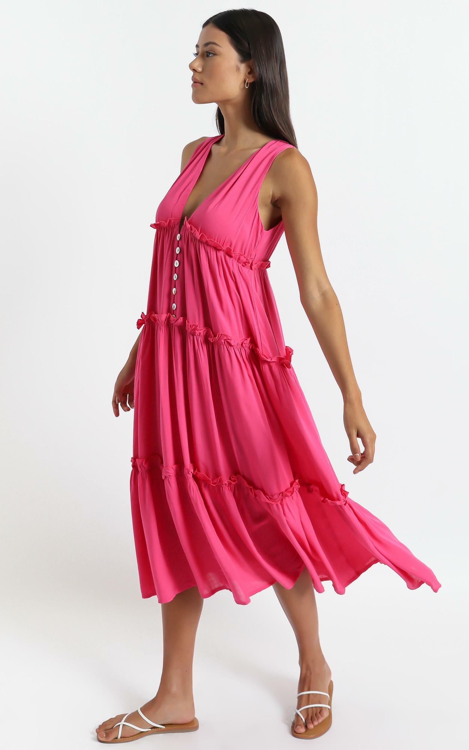 Arlana Dress in Pink - 6 (XS), Pink, hi-res image number null