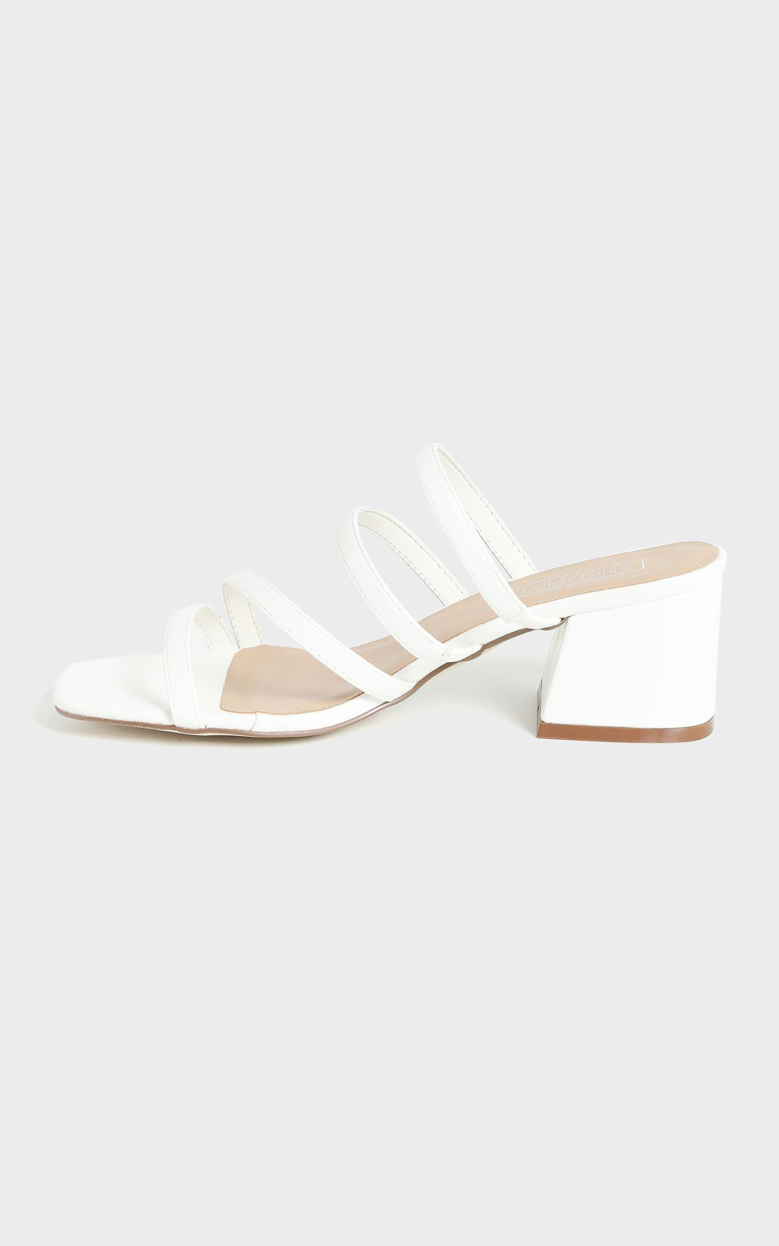 Therapy - Gardeena Heels in White - 5, White, hi-res image number null