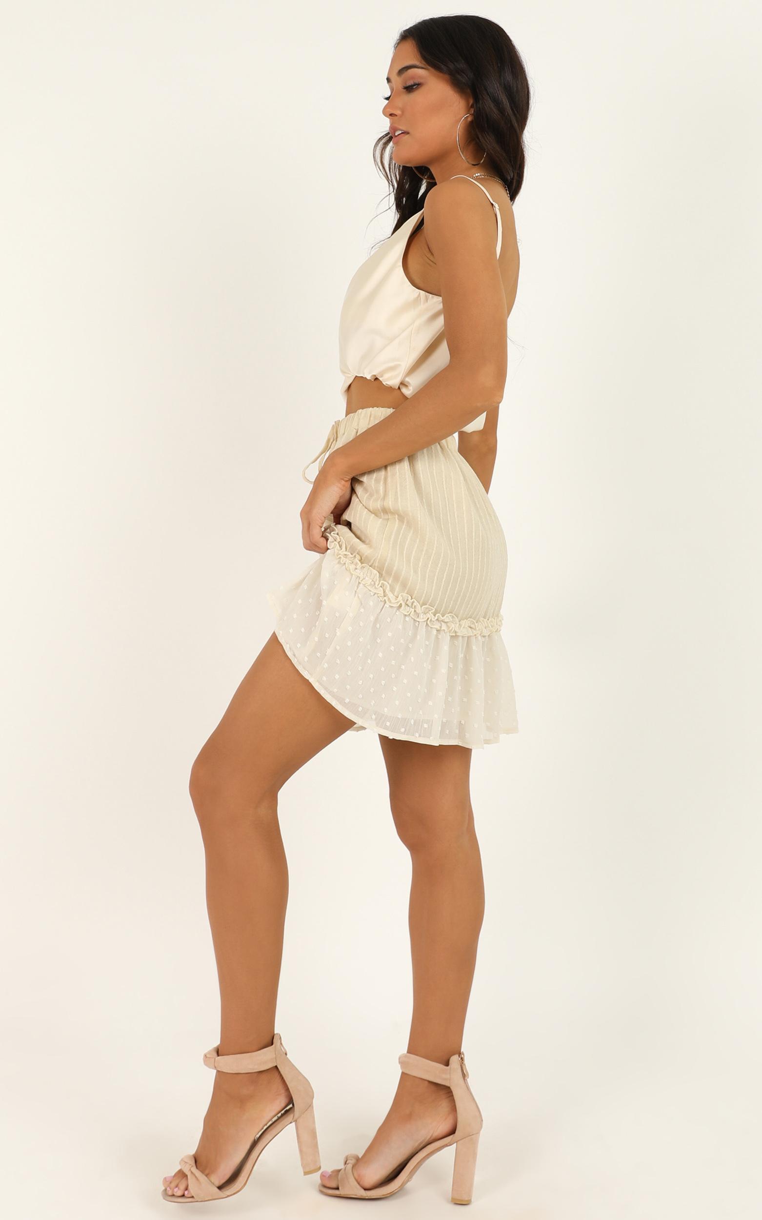 Open Options Skirt in cream - 16 (XXL), Cream, hi-res image number null