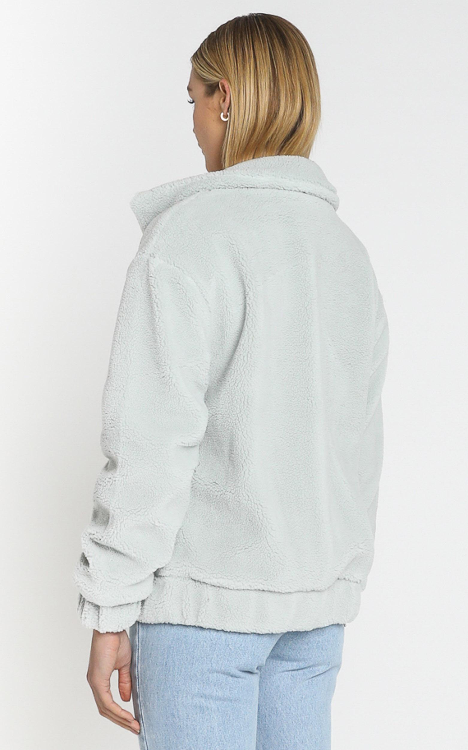 Mervyn Coat in Icy Sage - 8 (S), Sage, hi-res image number null