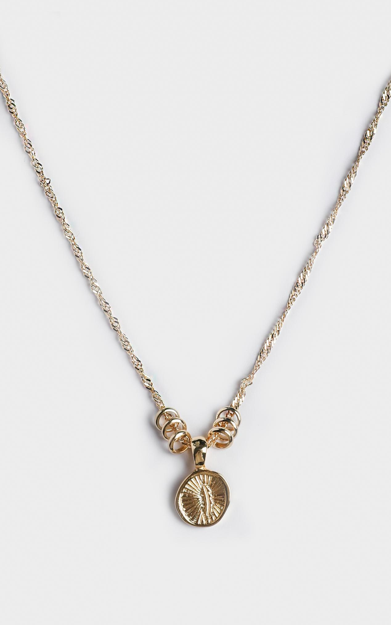 Minc Collections - Maui Pendant Necklace in Gold, , hi-res image number null