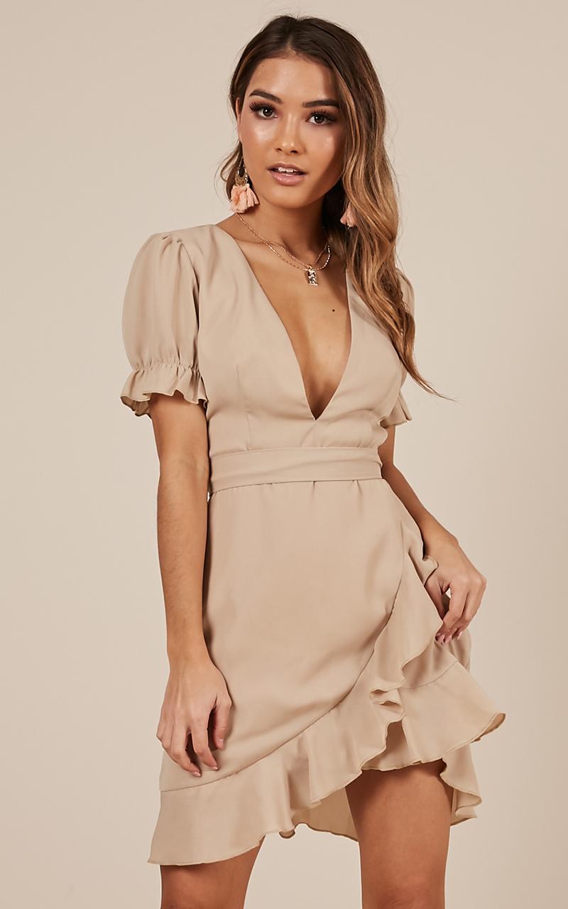 Play it Fair Dress in beige - 20 (XXXXL), Beige, hi-res image number null