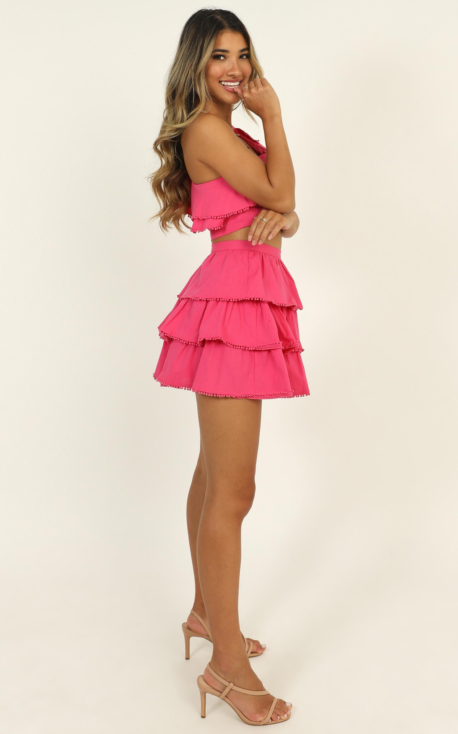 Rooftop Spritz Two Piece Set in hot pink - 20 (XXXXL), Pink, hi-res image number null