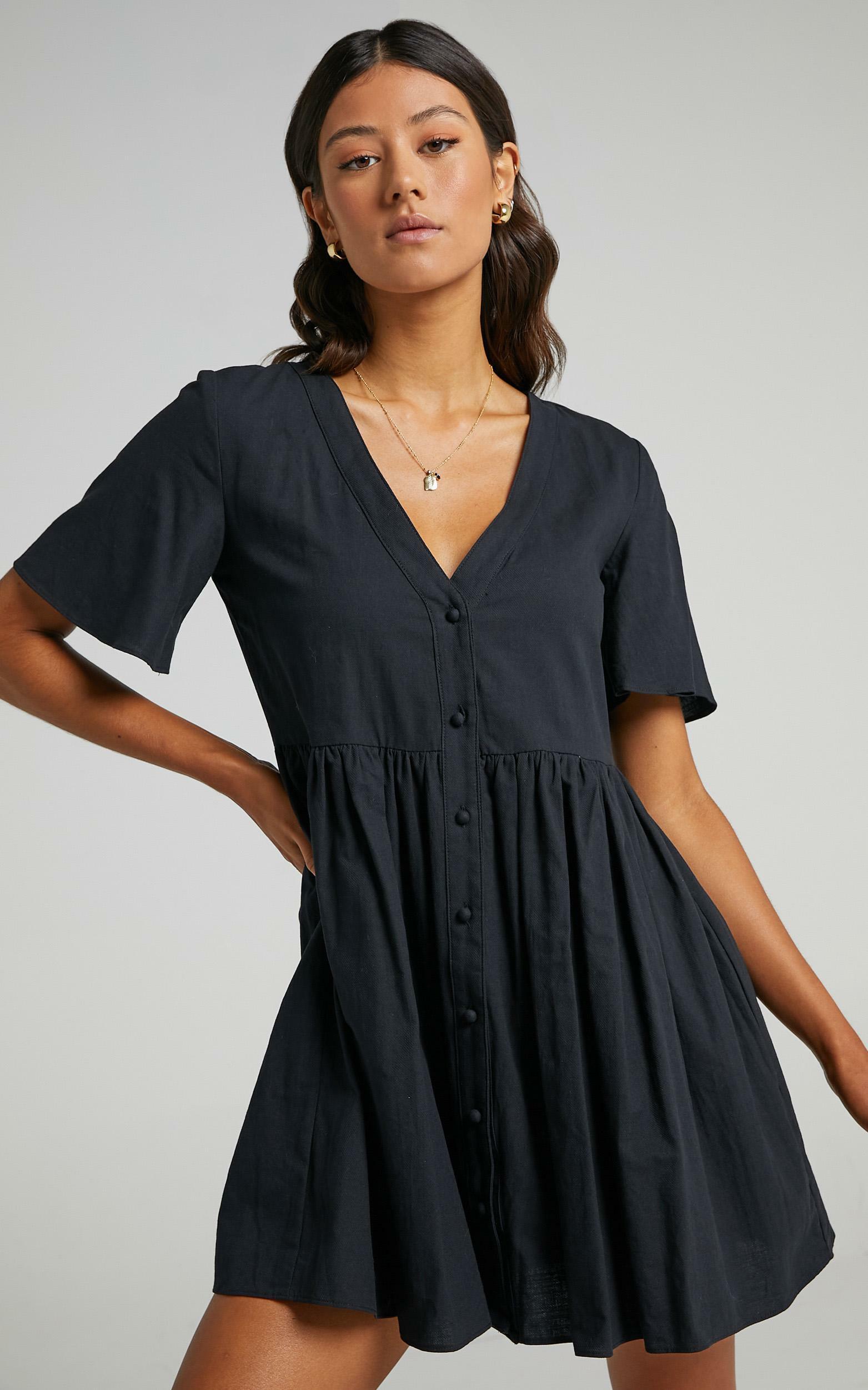 Staycation Dress in Black - 20, BLK1, hi-res image number null
