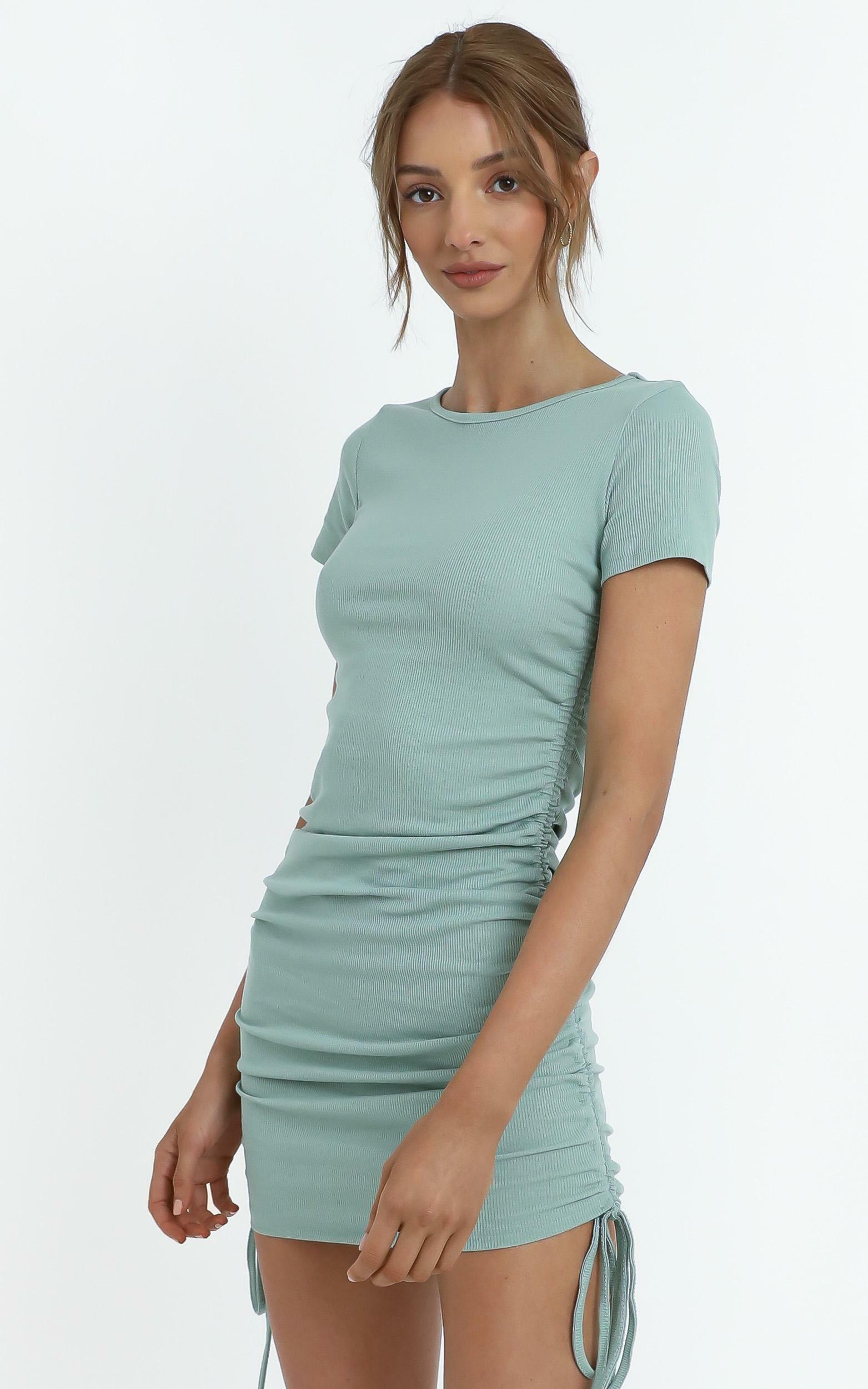 Arnie Dress in Sage - 12 (L), GRN1, hi-res image number null