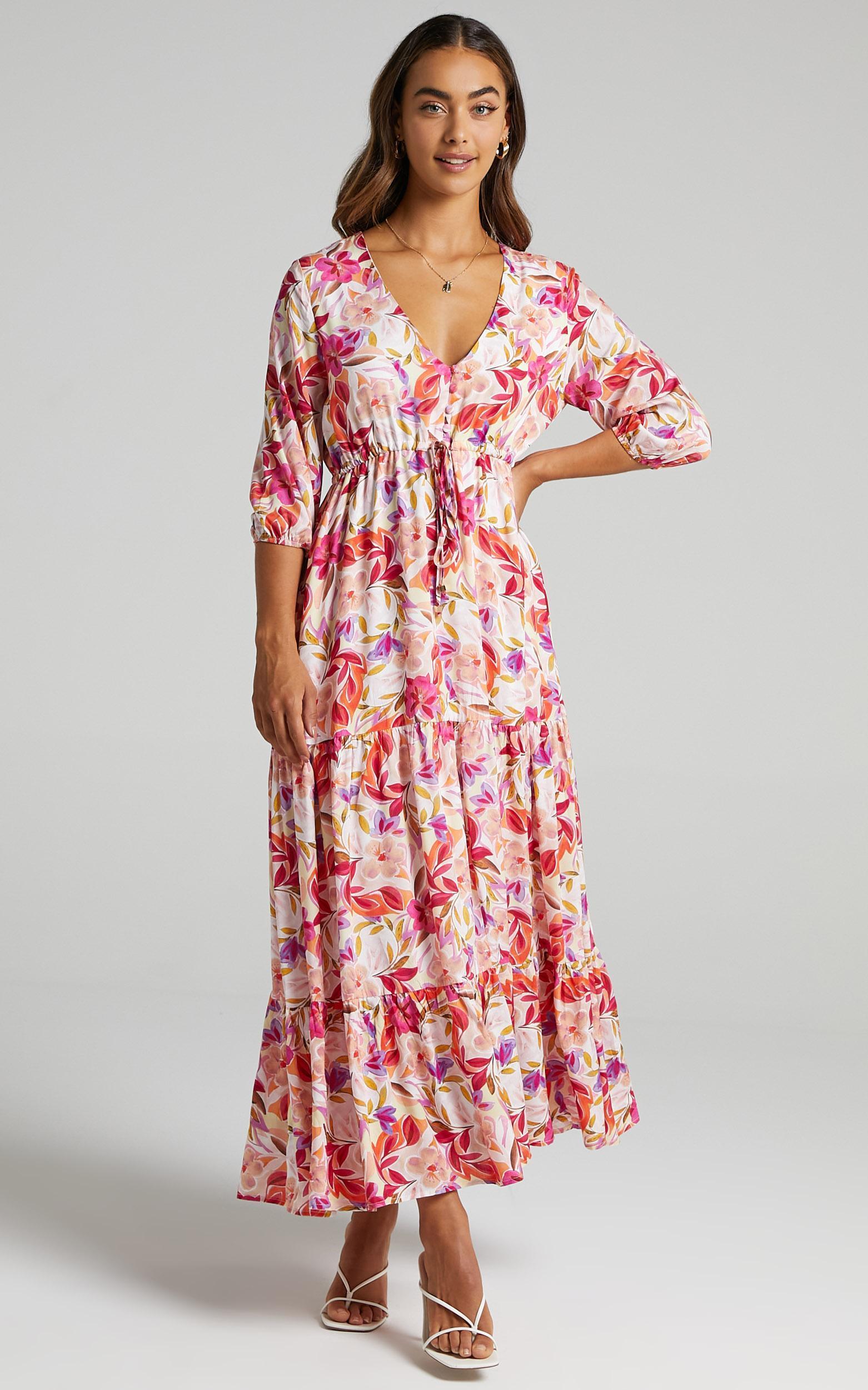 Lilibelle Dress in Eventful Bloom - 06, PNK1, hi-res image number null