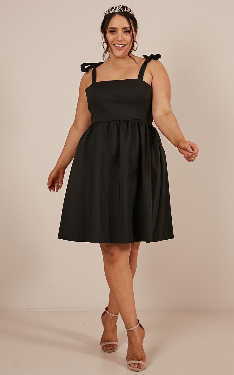 Get The Memo Dress in black - 12 (L), Black, hi-res image number null