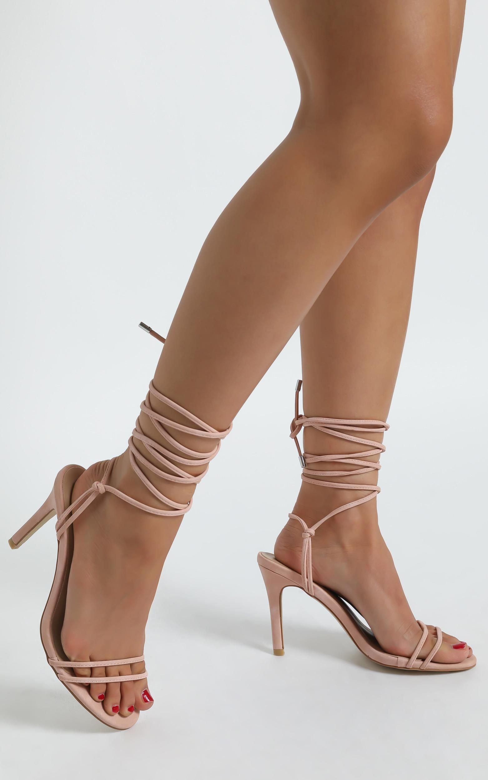 Therapy - Vibes Heels in Pastel Pink - 5, Pink, hi-res image number null