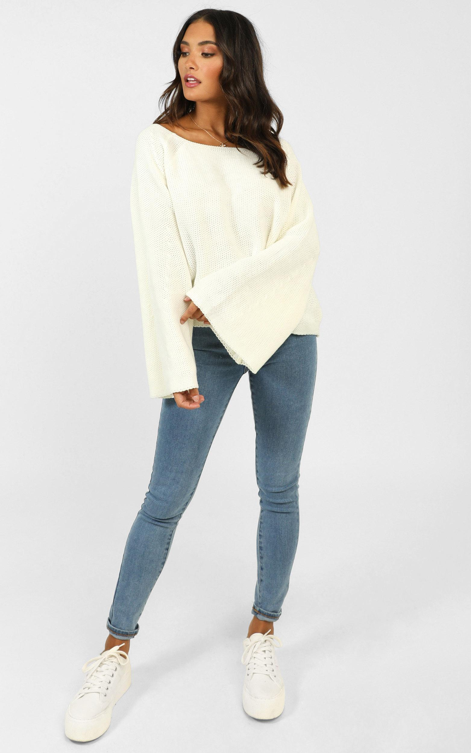 No Slouching Knit in cream - 20 (XXXXL), Cream, hi-res image number null