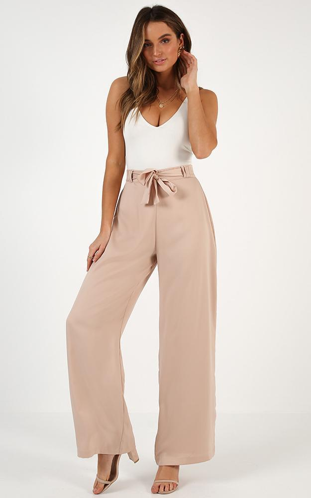 Long Walk Home pants in beige - 18 (XXXL), Beige, hi-res image number null