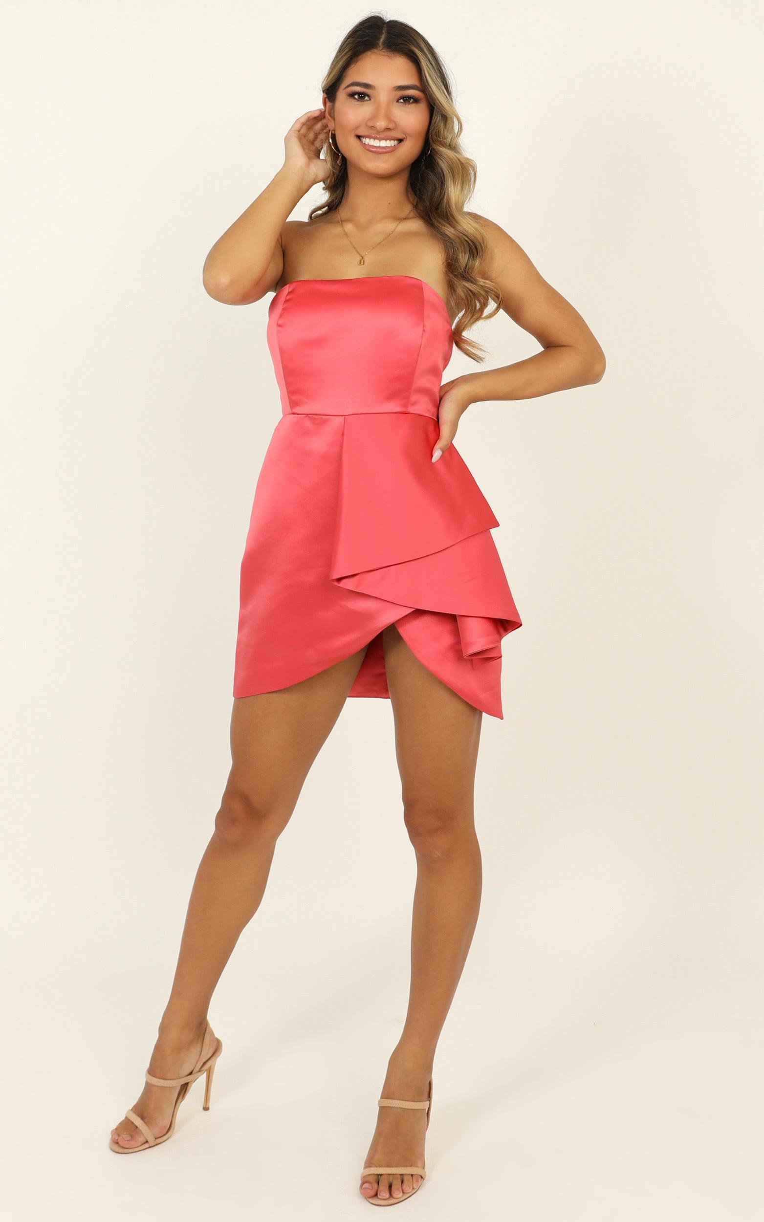 Isnt She Lovely Dress in coral - 14 (XL), Pink, hi-res image number null
