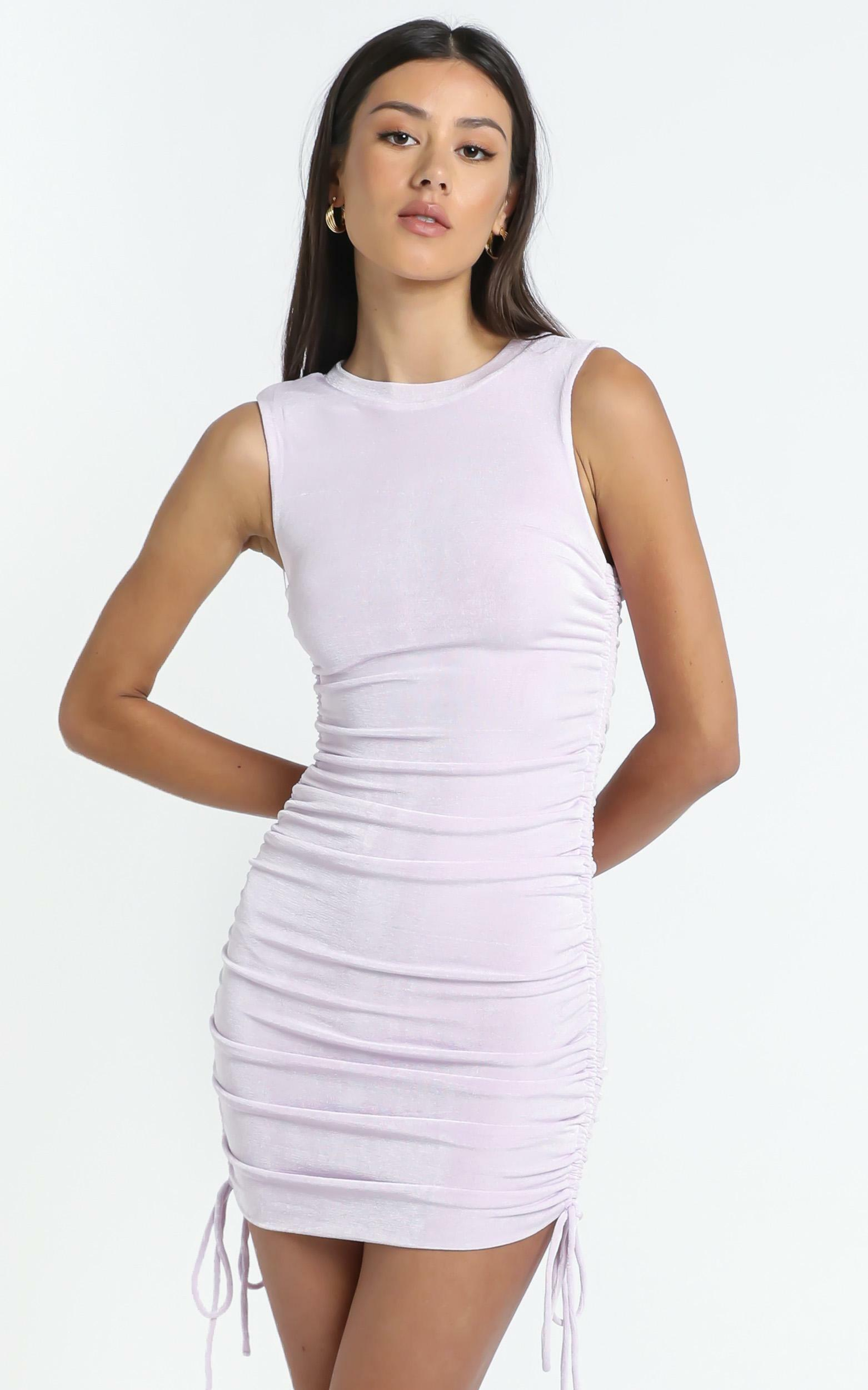Marcella Dress in Lilac - 12 (L), Purple, hi-res image number null