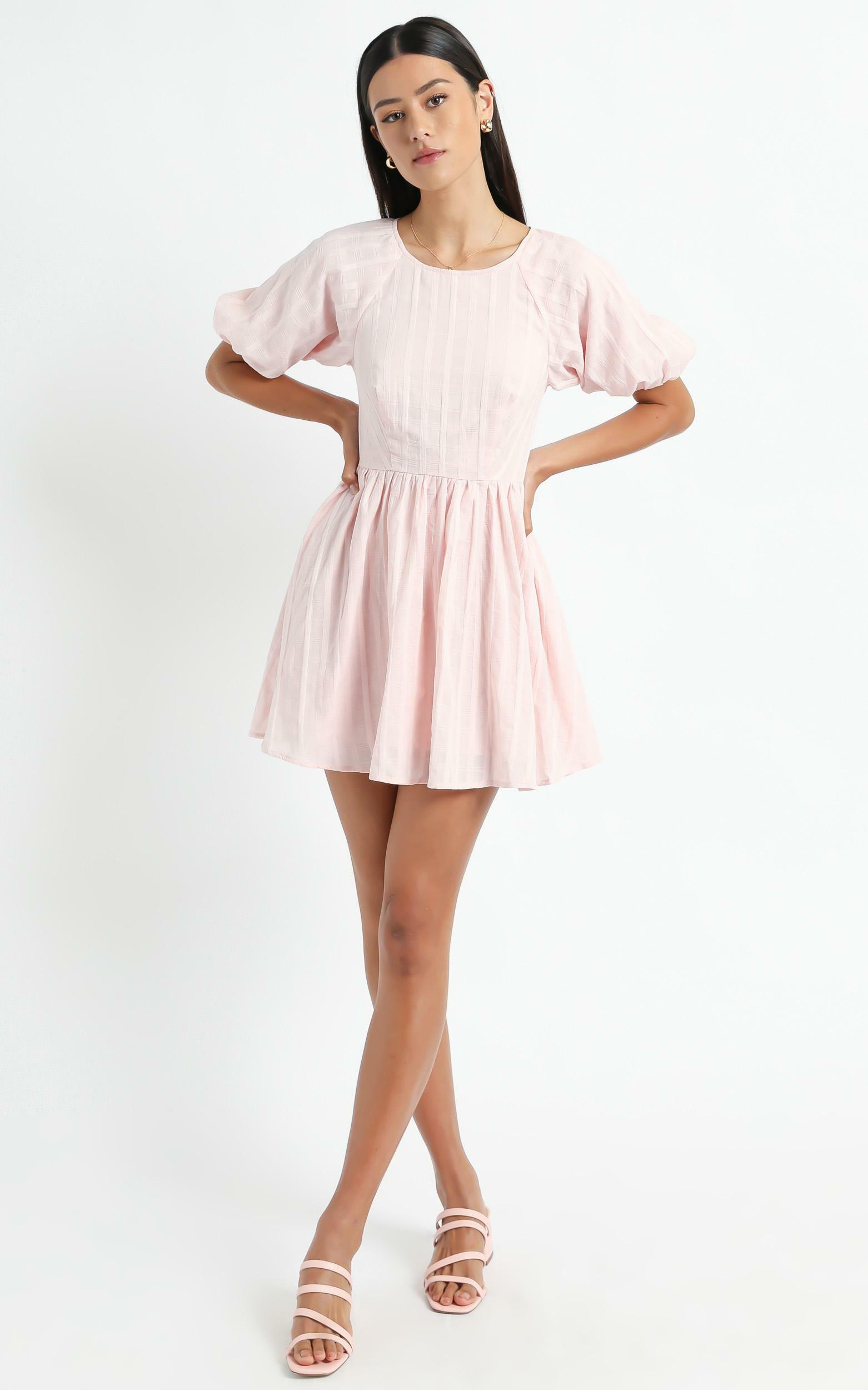 Cherie Dress in Blush - 06, PNK1, hi-res image number null