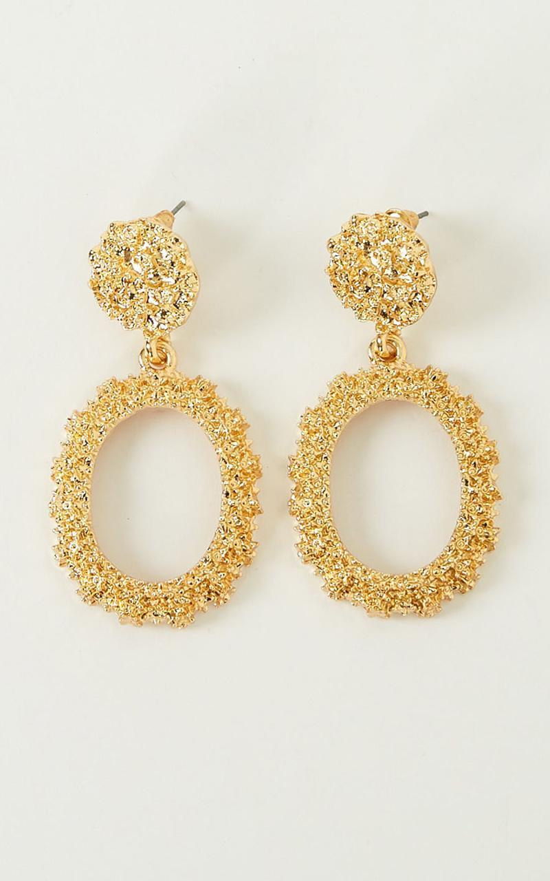 Standy By Earrings In Gold, Gold, hi-res image number null