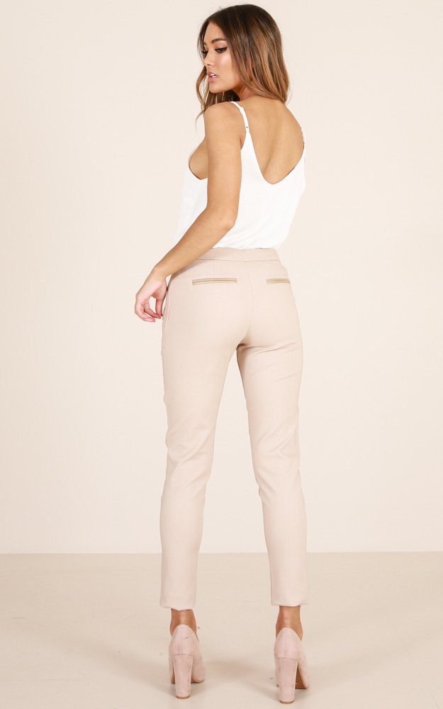 Win It All pants in beige - 14 (XL), Beige, hi-res image number null