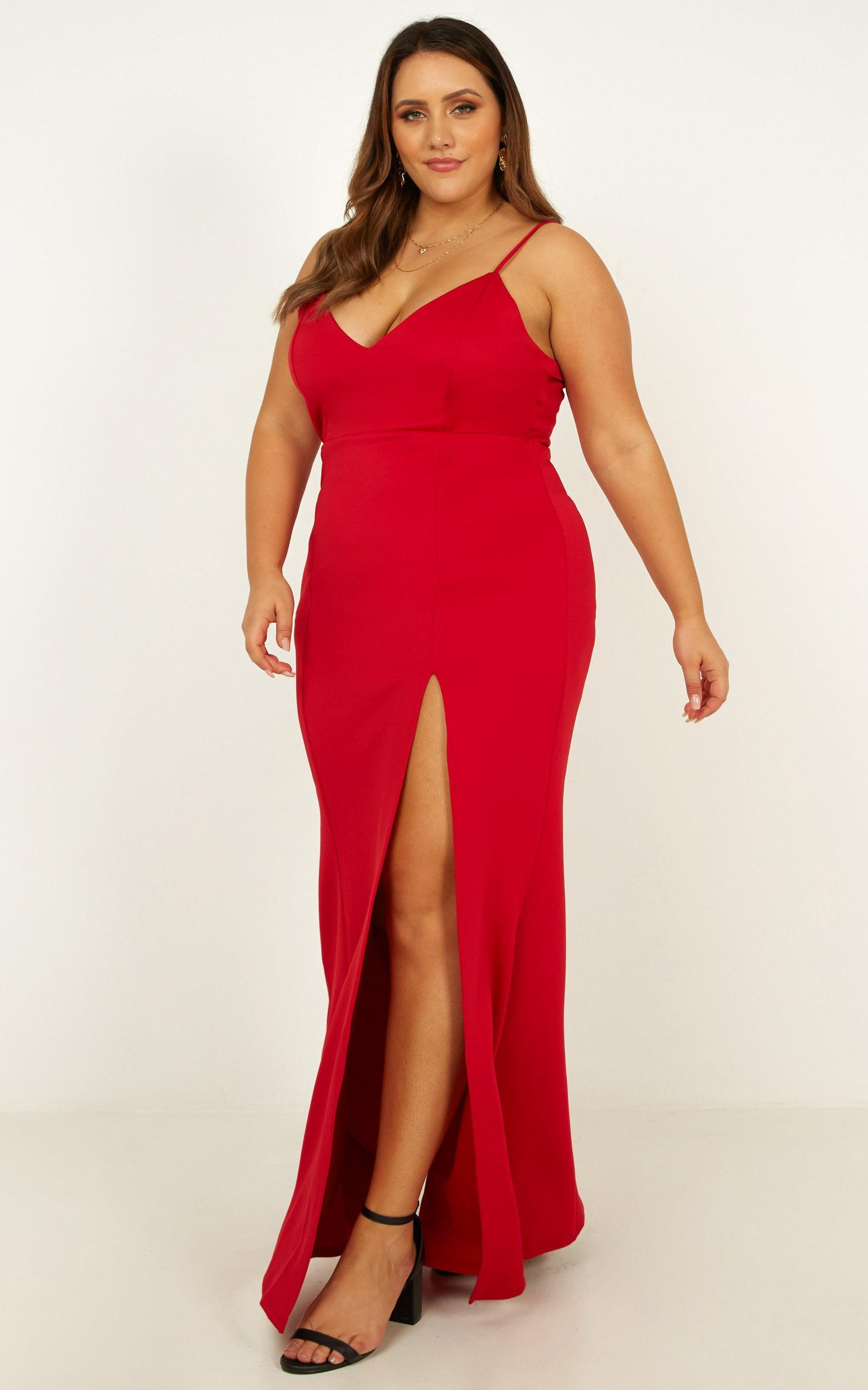 Dare To Dream Maxi Dress in red - 20 (XXXXL), Red, hi-res image number null